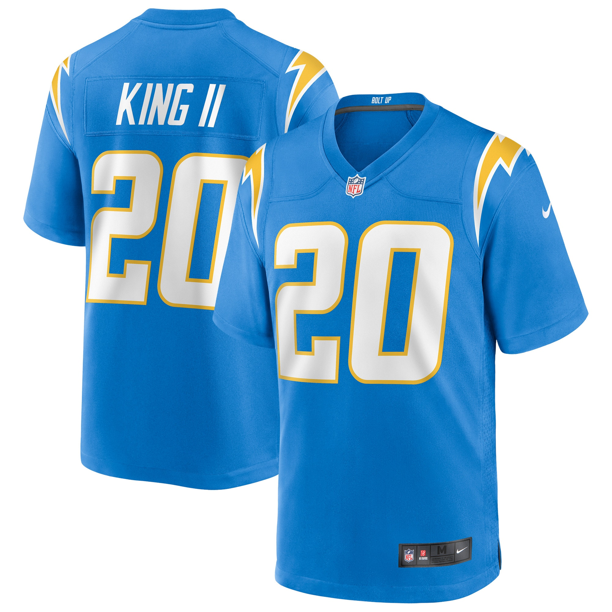 Desmond King Los Angeles Chargers Nike Game Jersey - Powder Blue