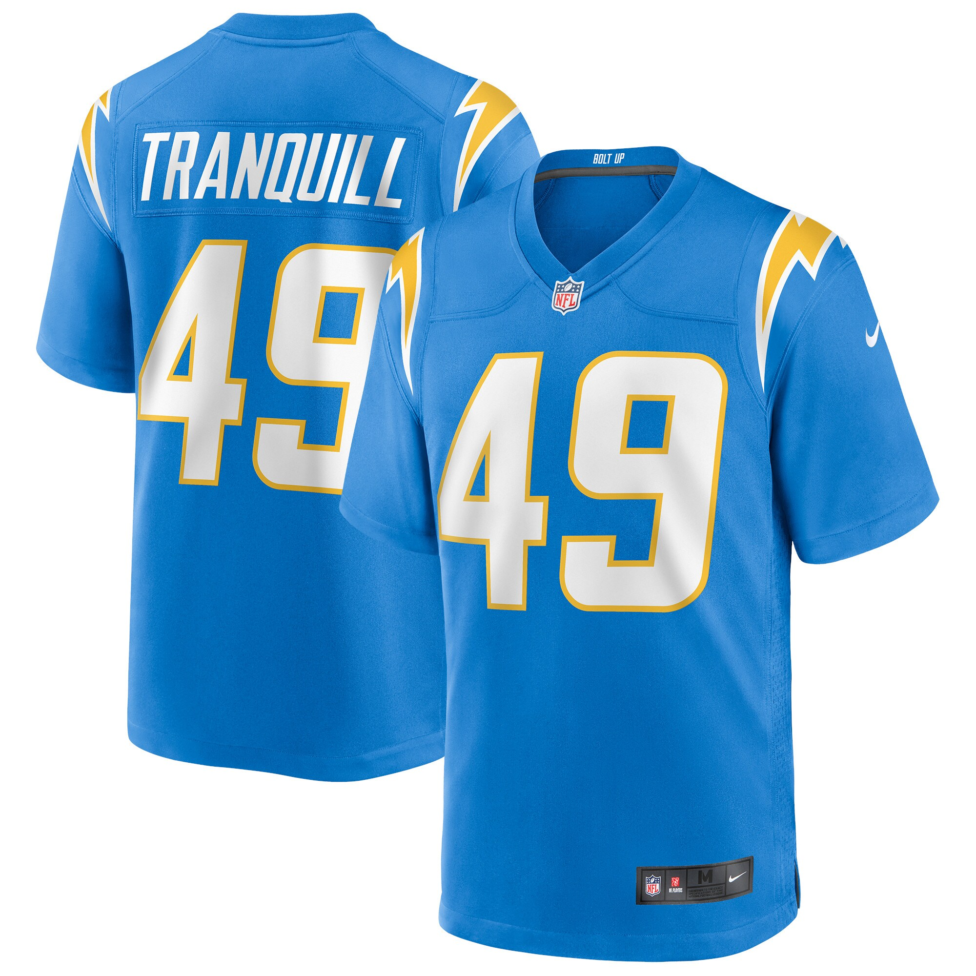 Drue Tranquill Los Angeles Chargers Nike Game Jersey - Powder Blue