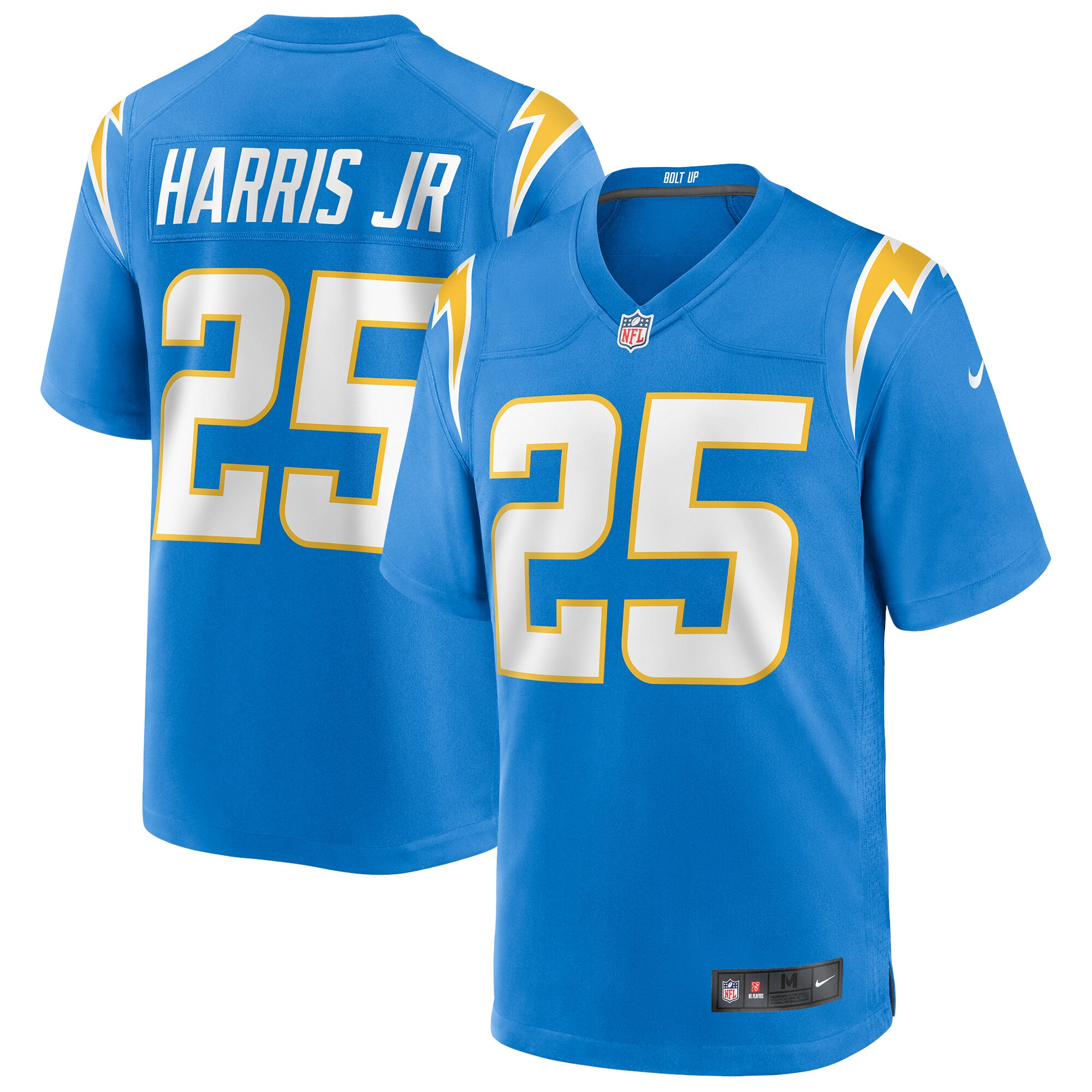 Chris Harris Jr. Los Angeles Chargers Nike Game Jersey - Powder Blue