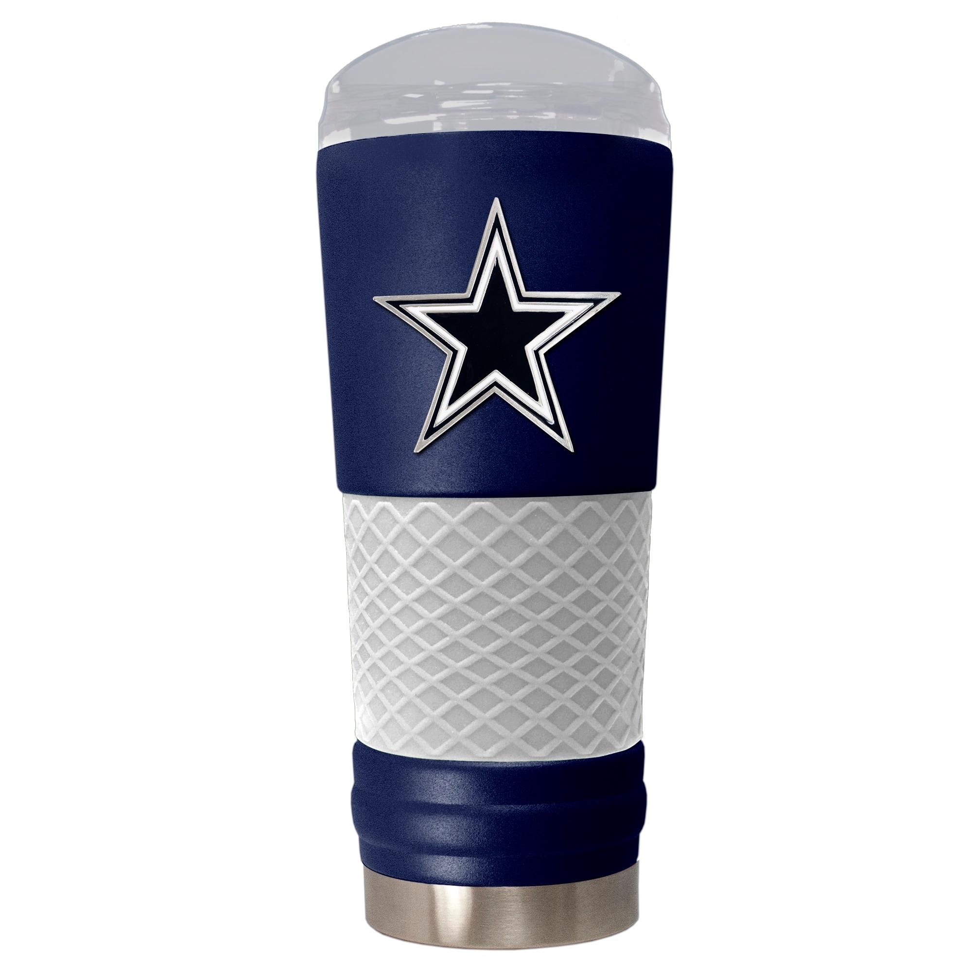 Dallas Cowboys 24oz. Powder Coated Draft Travel Mug - Blue