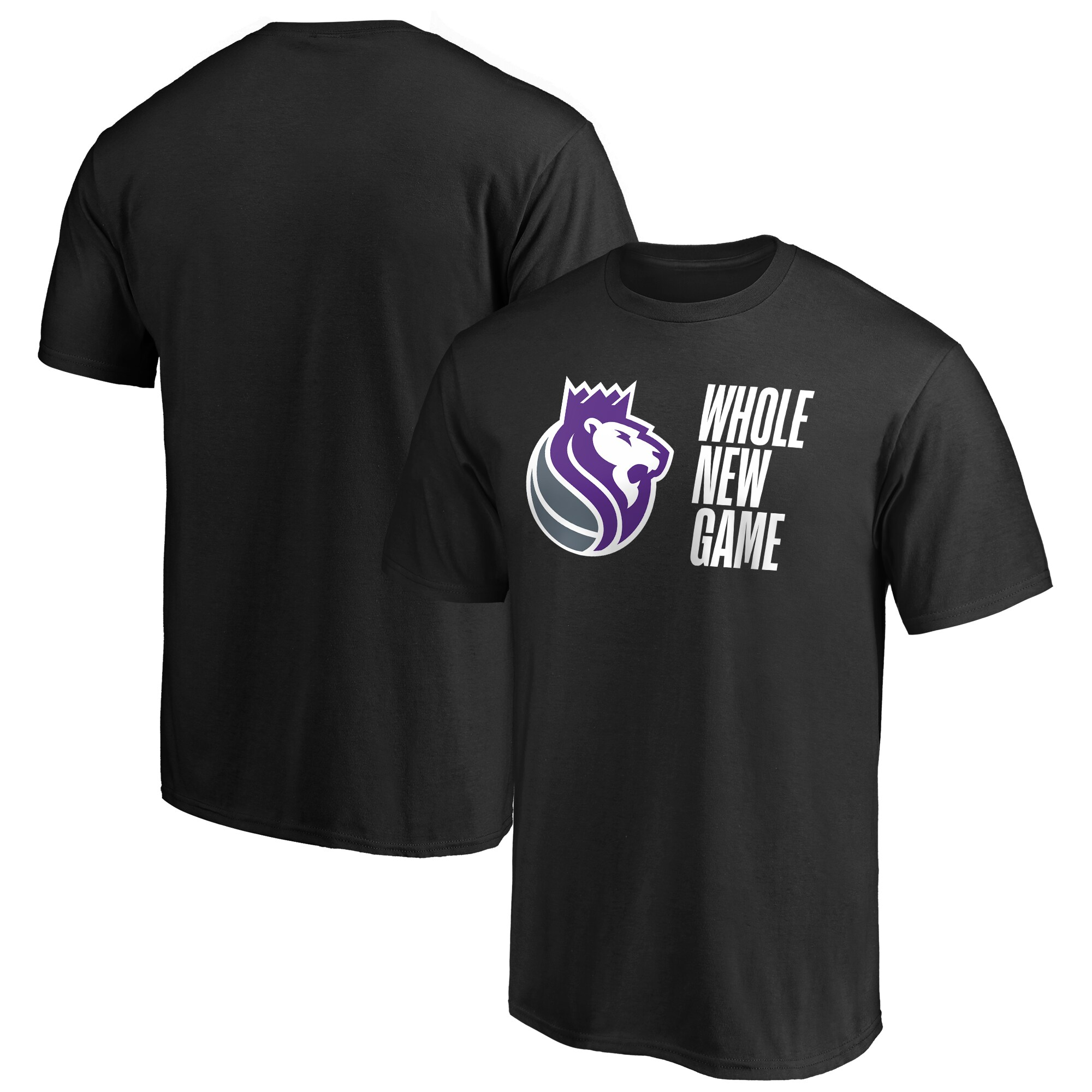 Sacramento Kings Fanatics Branded Whole New Game Team T-Shirt - Black