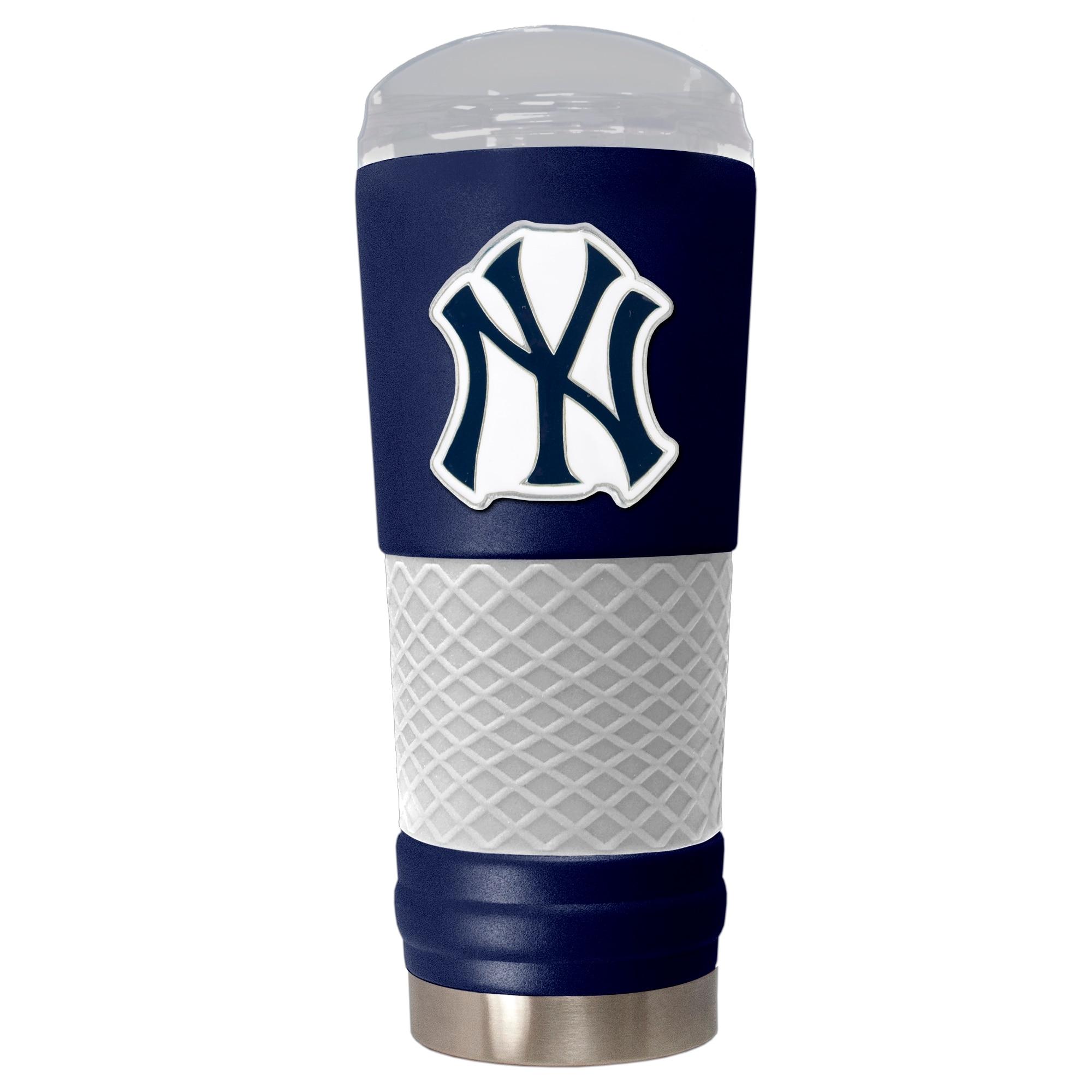 New York Yankees 24oz. Powder Coated Draft Travel Mug - Blue