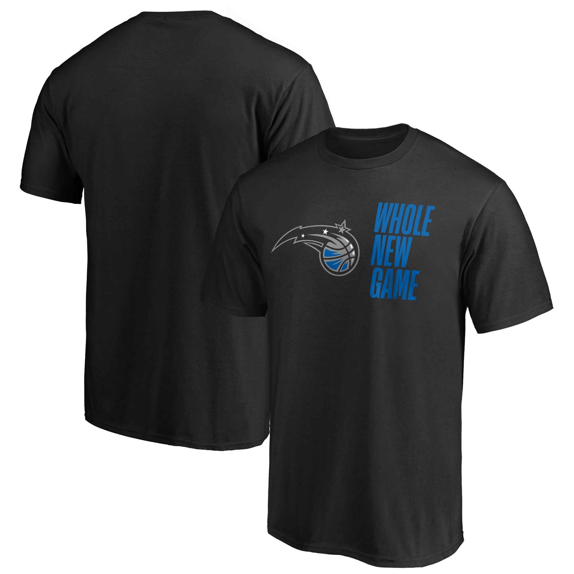 Orlando Magic Fanatics Branded Whole New Game Team T-Shirt - Black