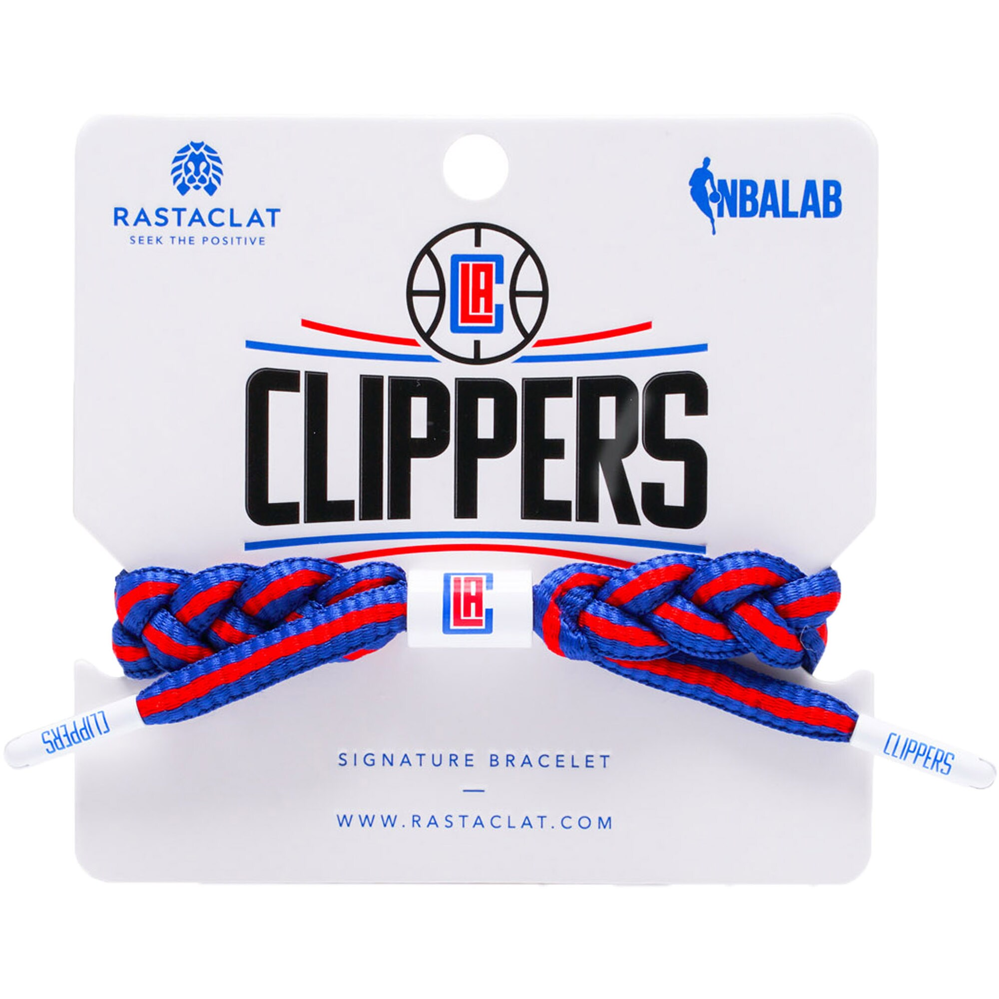 LA Clippers Rastaclat Team Signature Away Bracelet