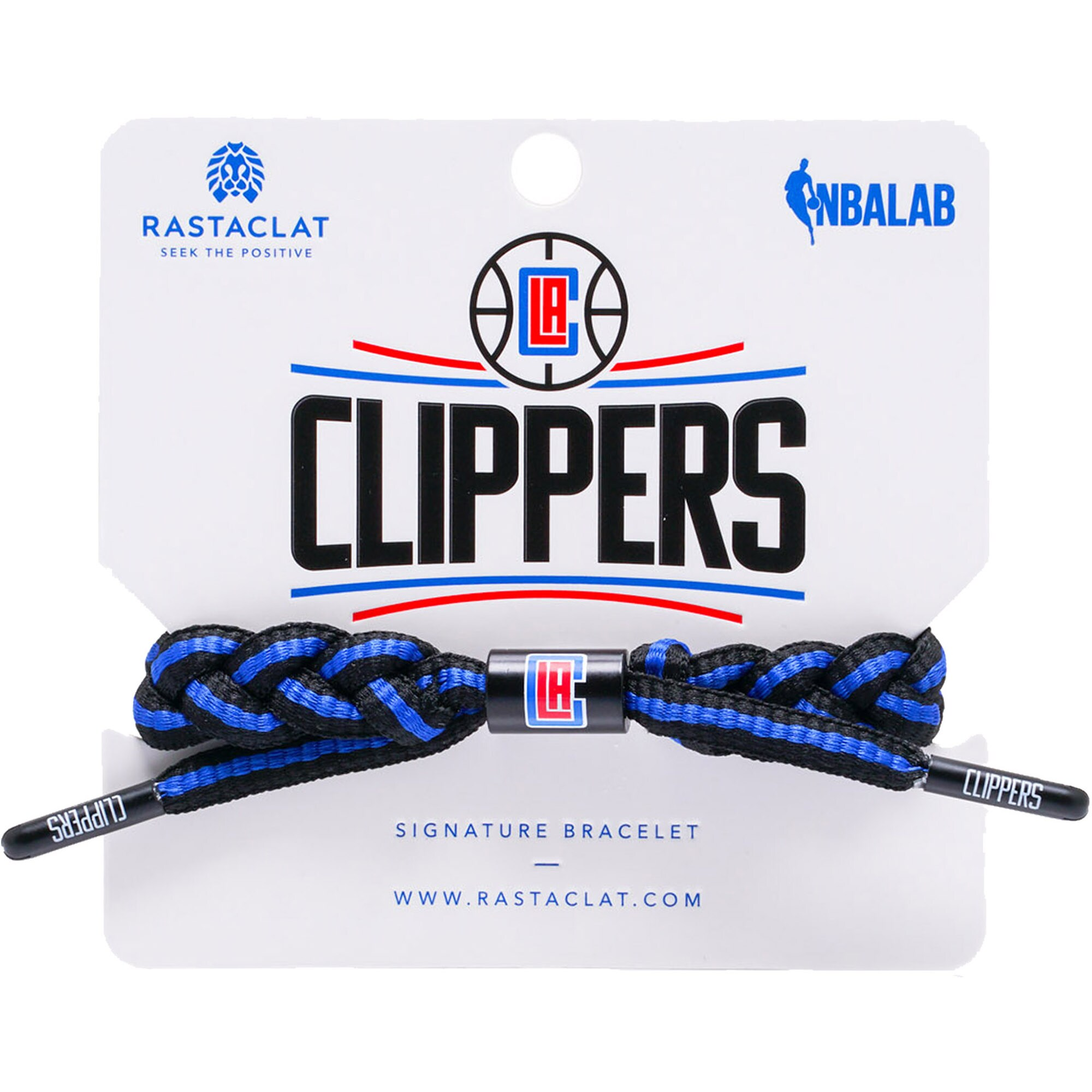 LA Clippers Rastaclat Team Signature Home Bracelet