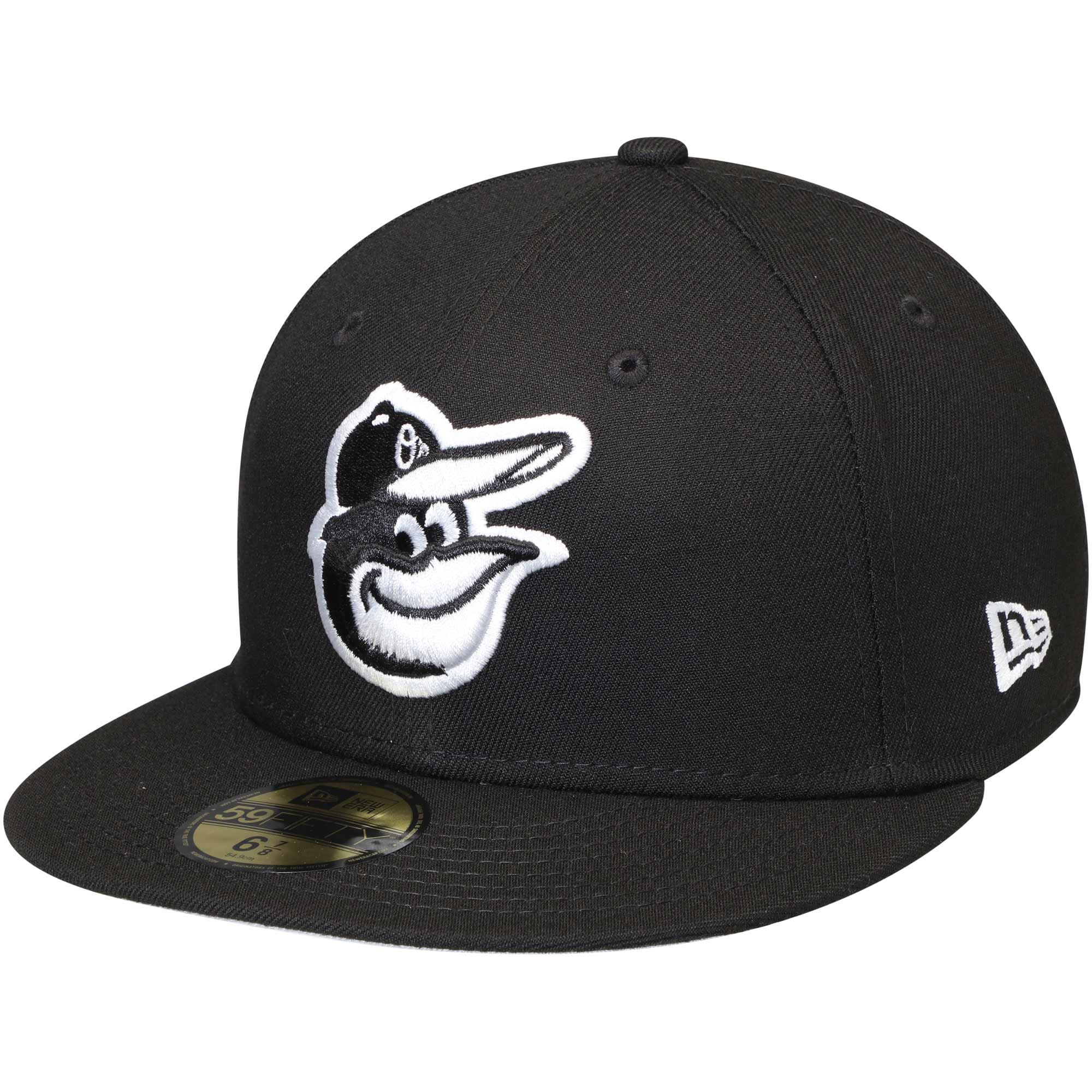 Baltimore Orioles New Era 59FIFTY Fitted Hat - Black
