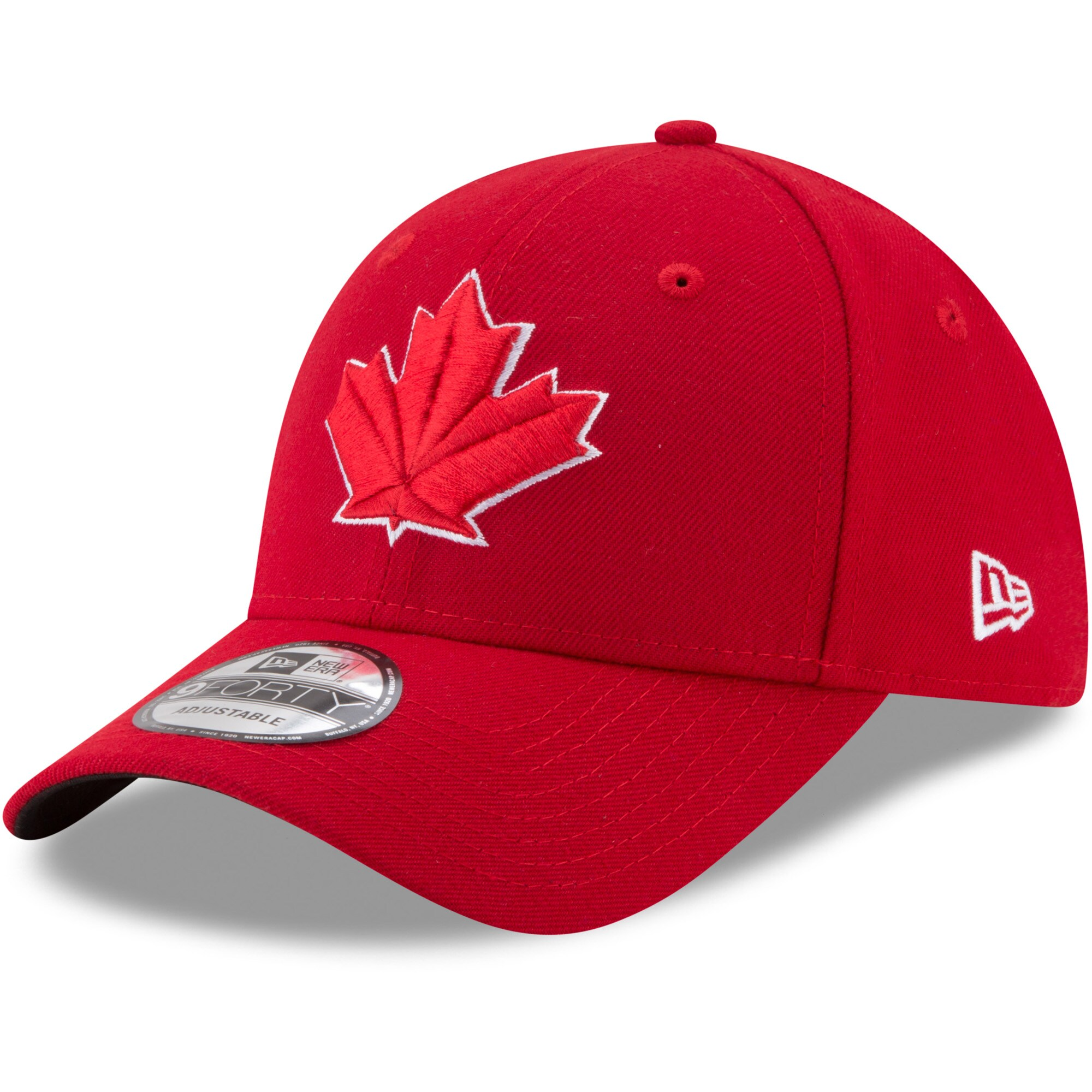 Toronto Blue Jays New Era Alternate 2 The League 9FORTY Adjustable Hat - Red