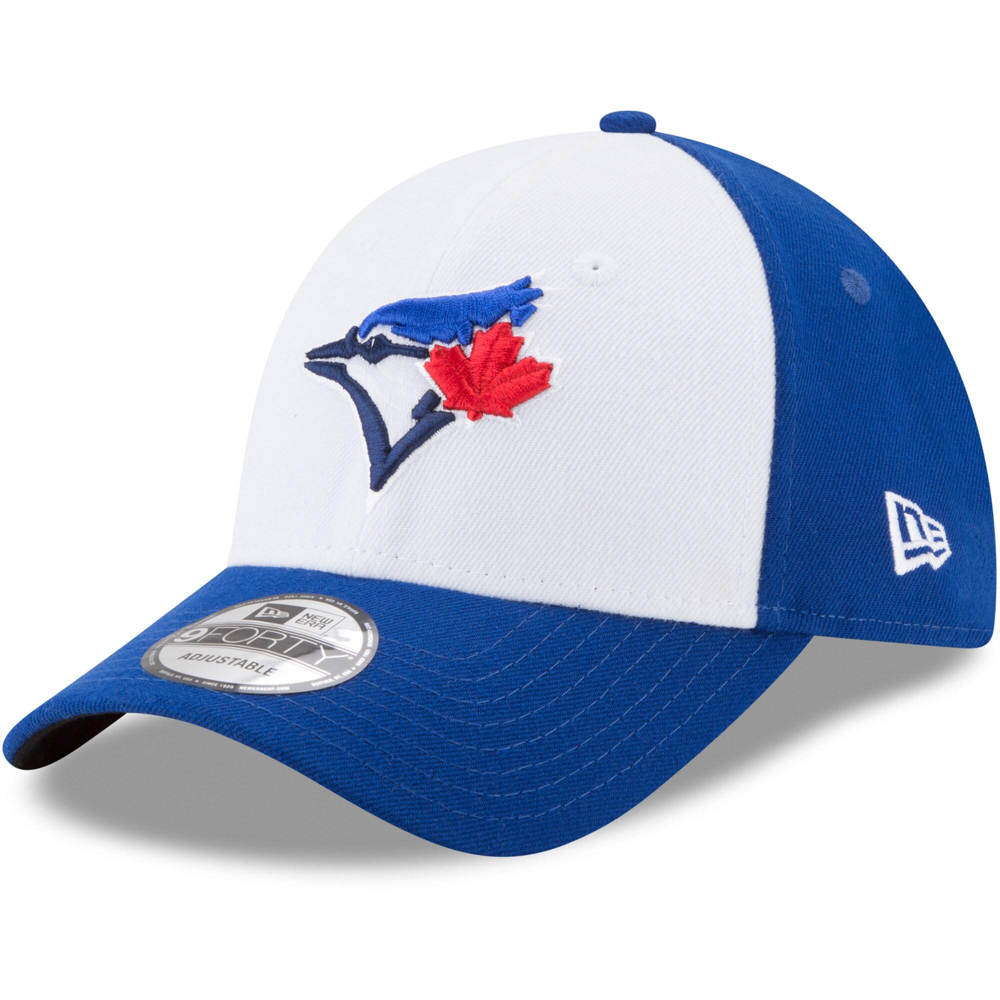 Toronto Blue Jays New Era Alternate 3 The League 9FORTY Adjustable Hat - White/Royal