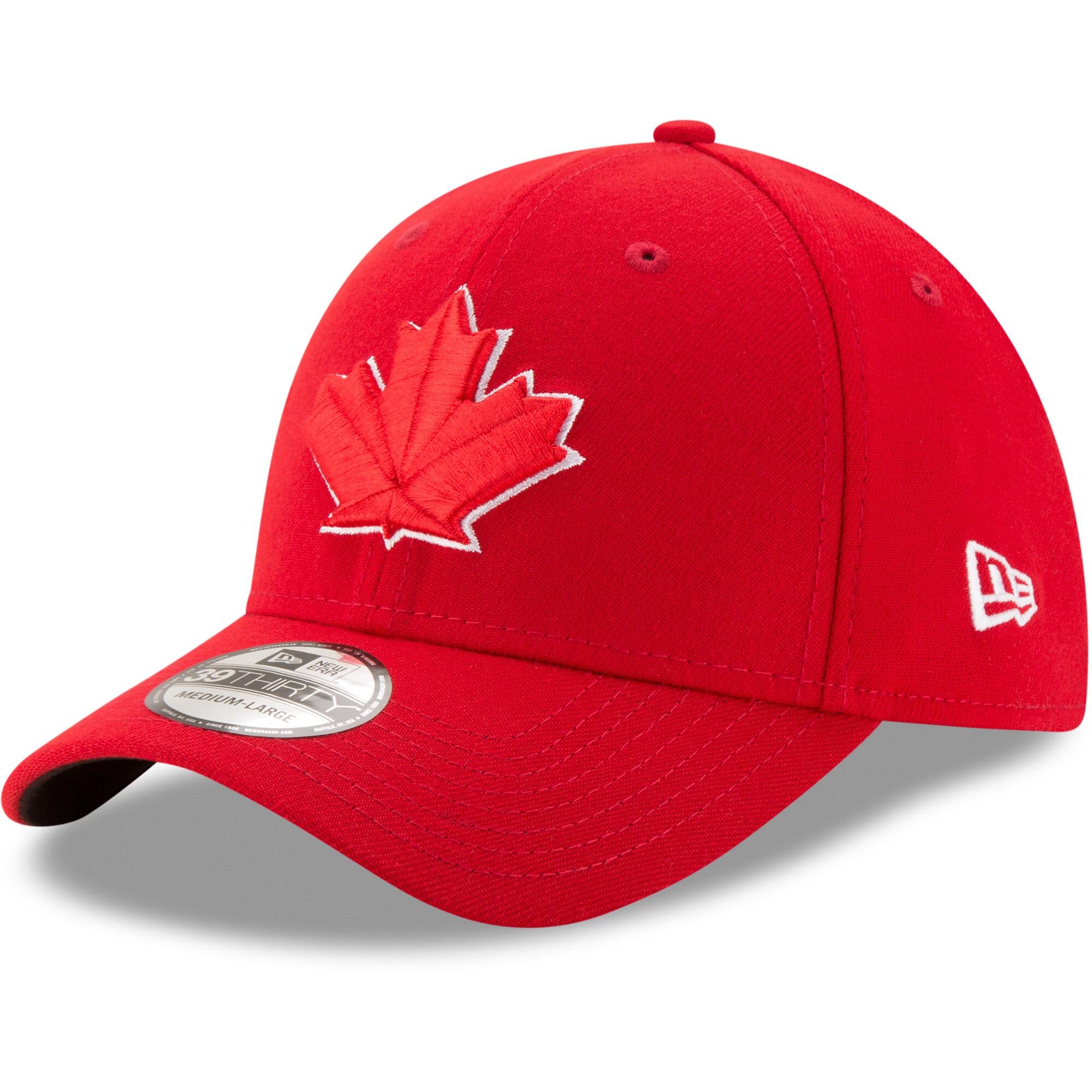 Toronto Blue Jays New Era Alternate 2 Team Classic 39THIRTY Flex Hat - Red