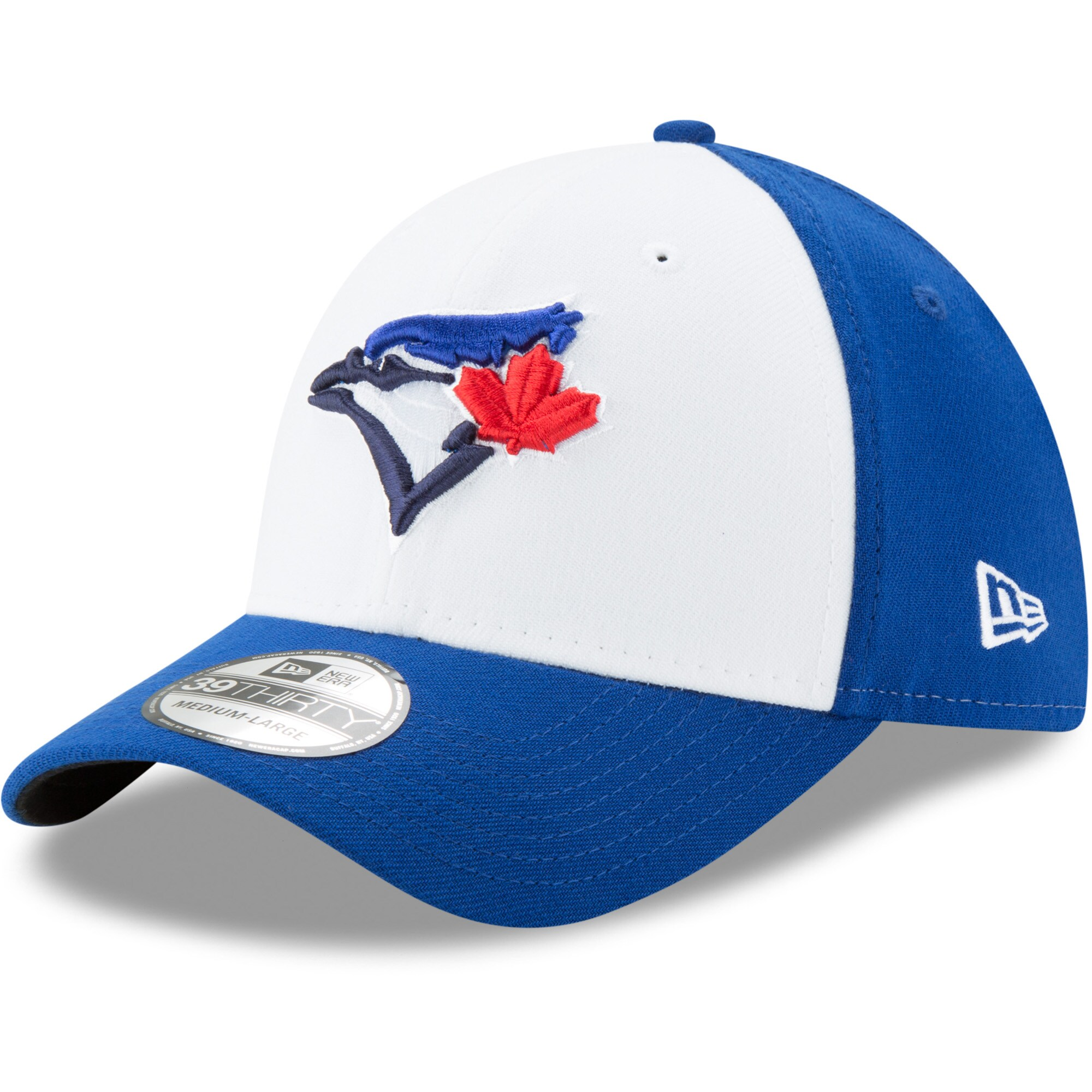 Toronto Blue Jays New Era Alternate 3 Team Classic 39THIRTY Flex Hat - White