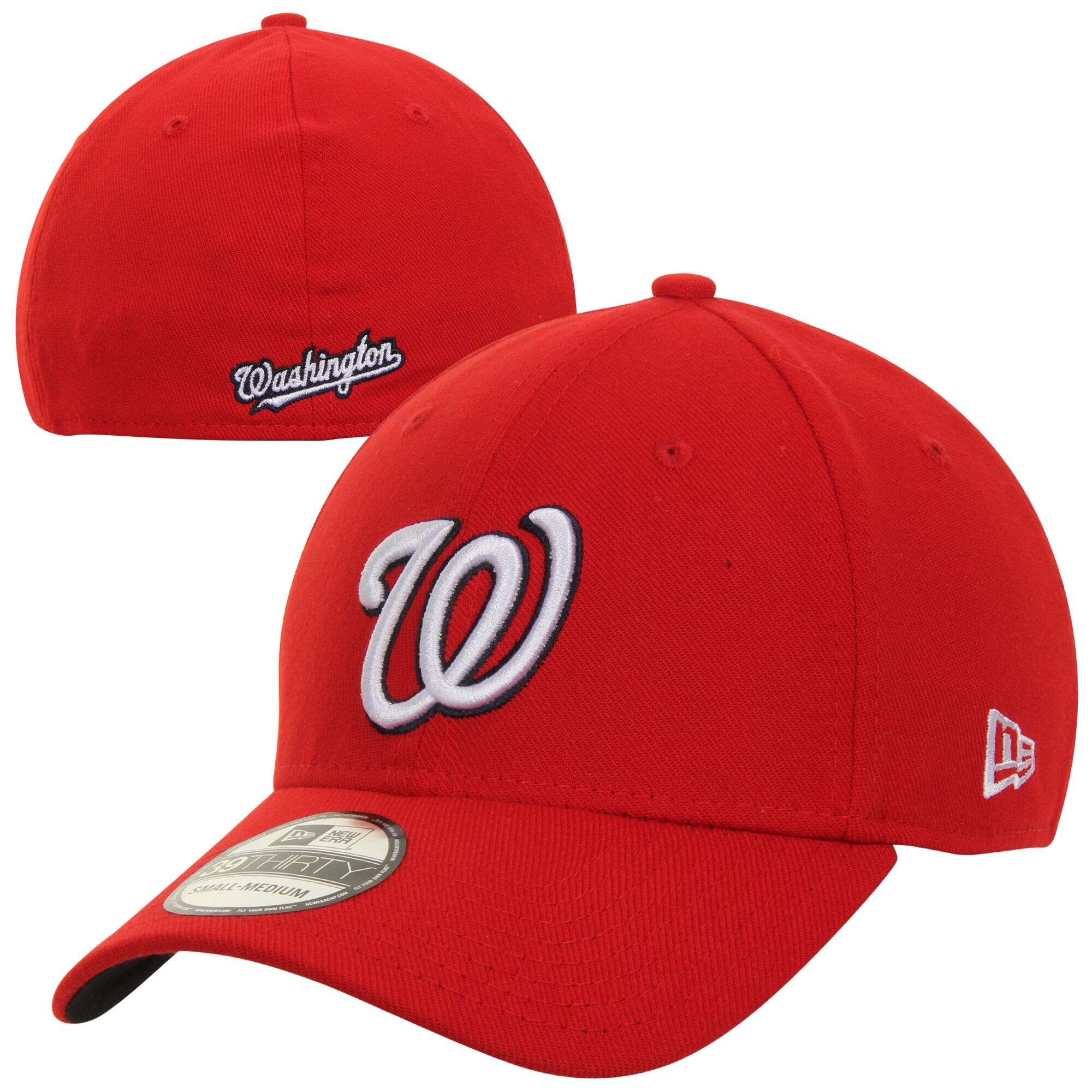 Washington Nationals New Era MLB Team Classic Alternate 39THIRTY Flex Hat - Red