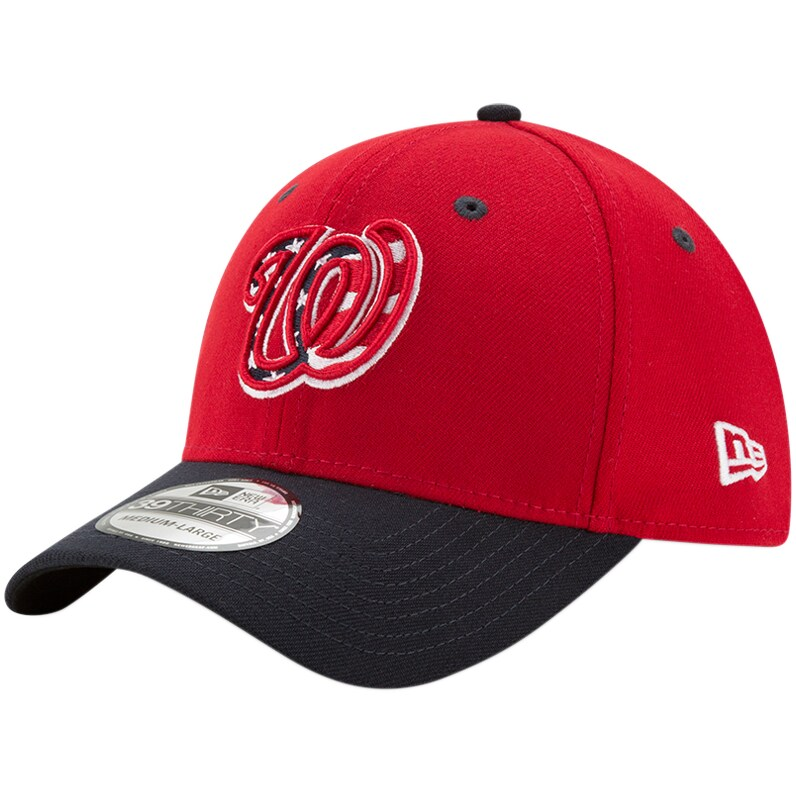 Washington Nationals New Era Alternate 3 Team Classic 39THIRTY Flex Hat - Red