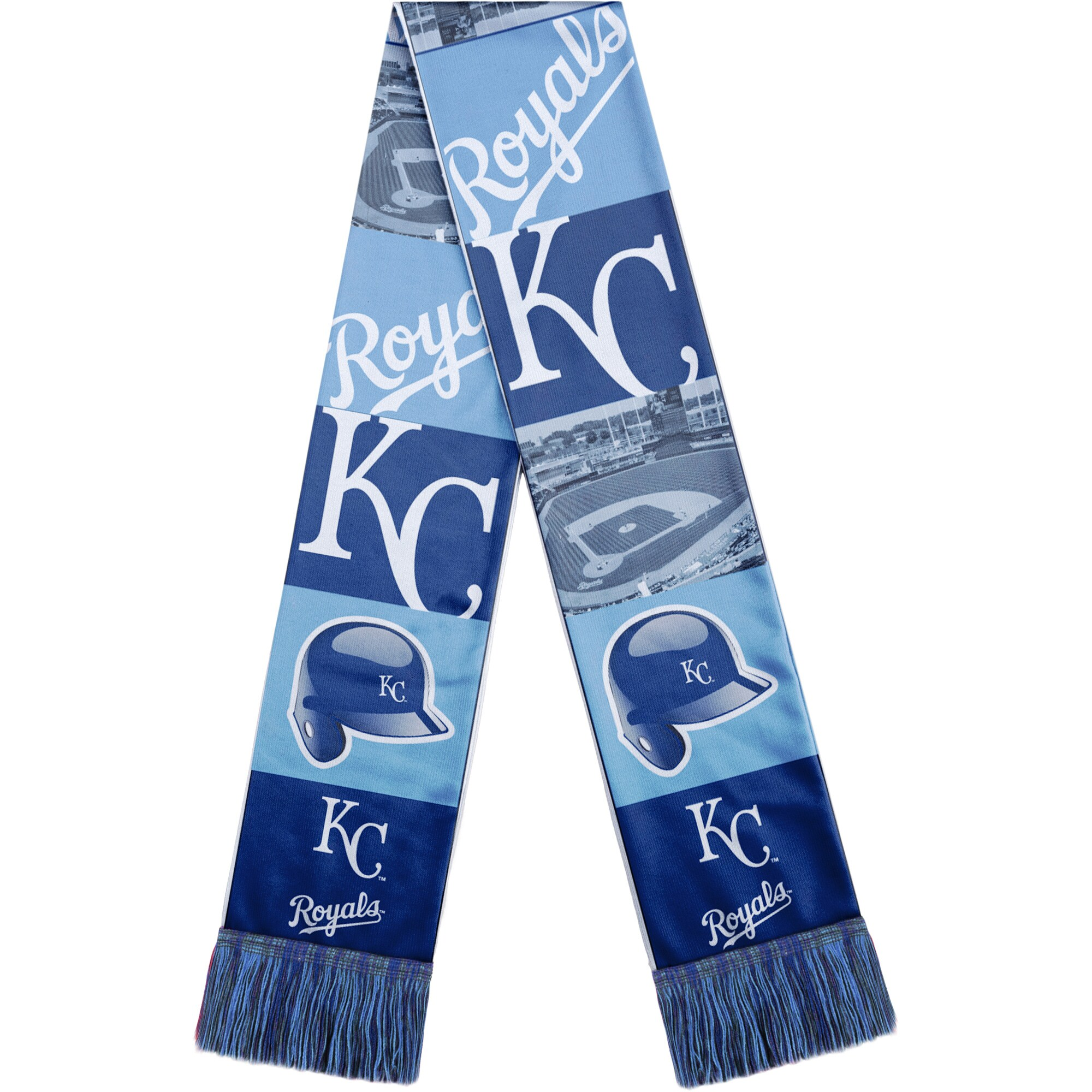 Kansas City Royals Bar Scarf - Royal