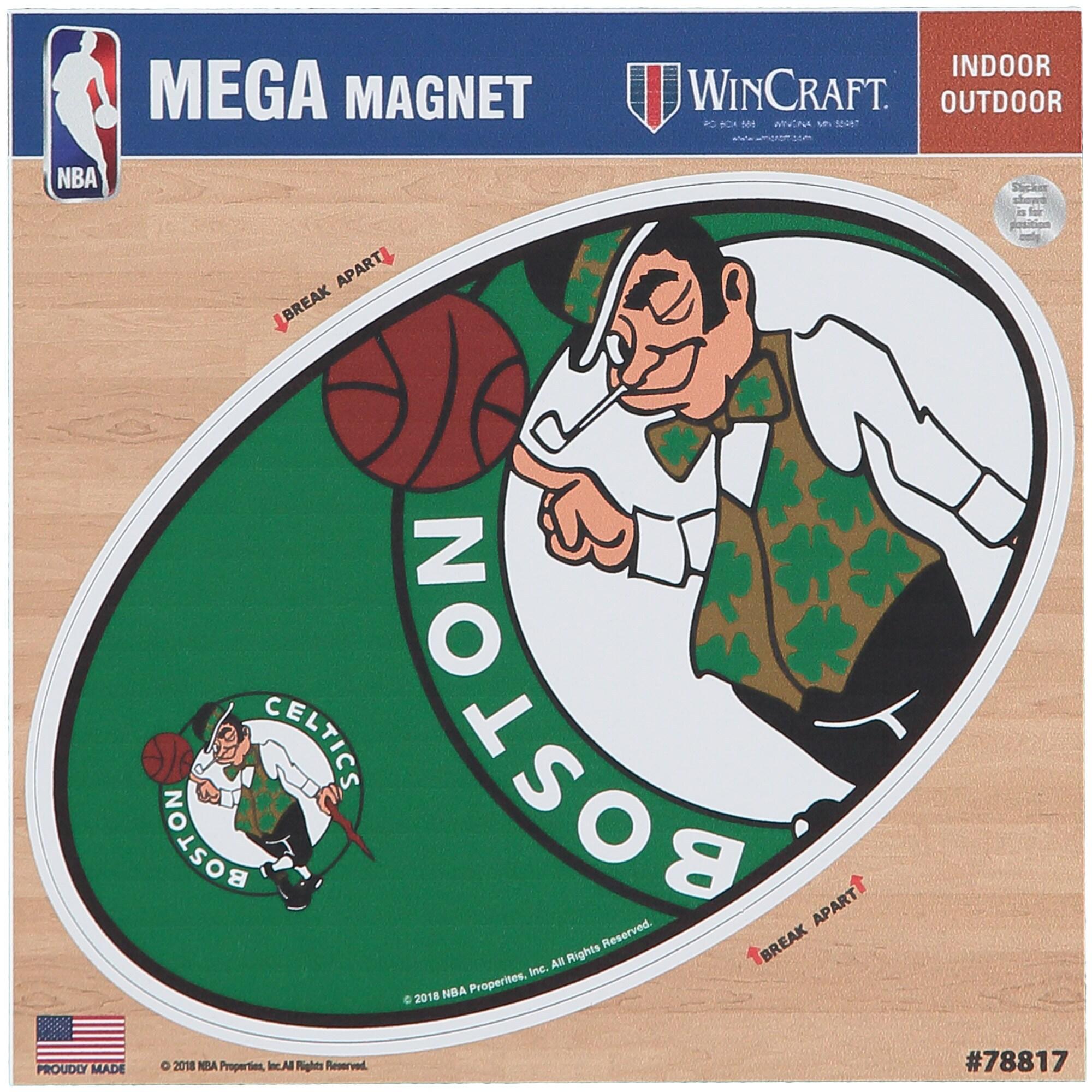 """Boston Celtics 6"""" x 6"""" Mega Magnet"""