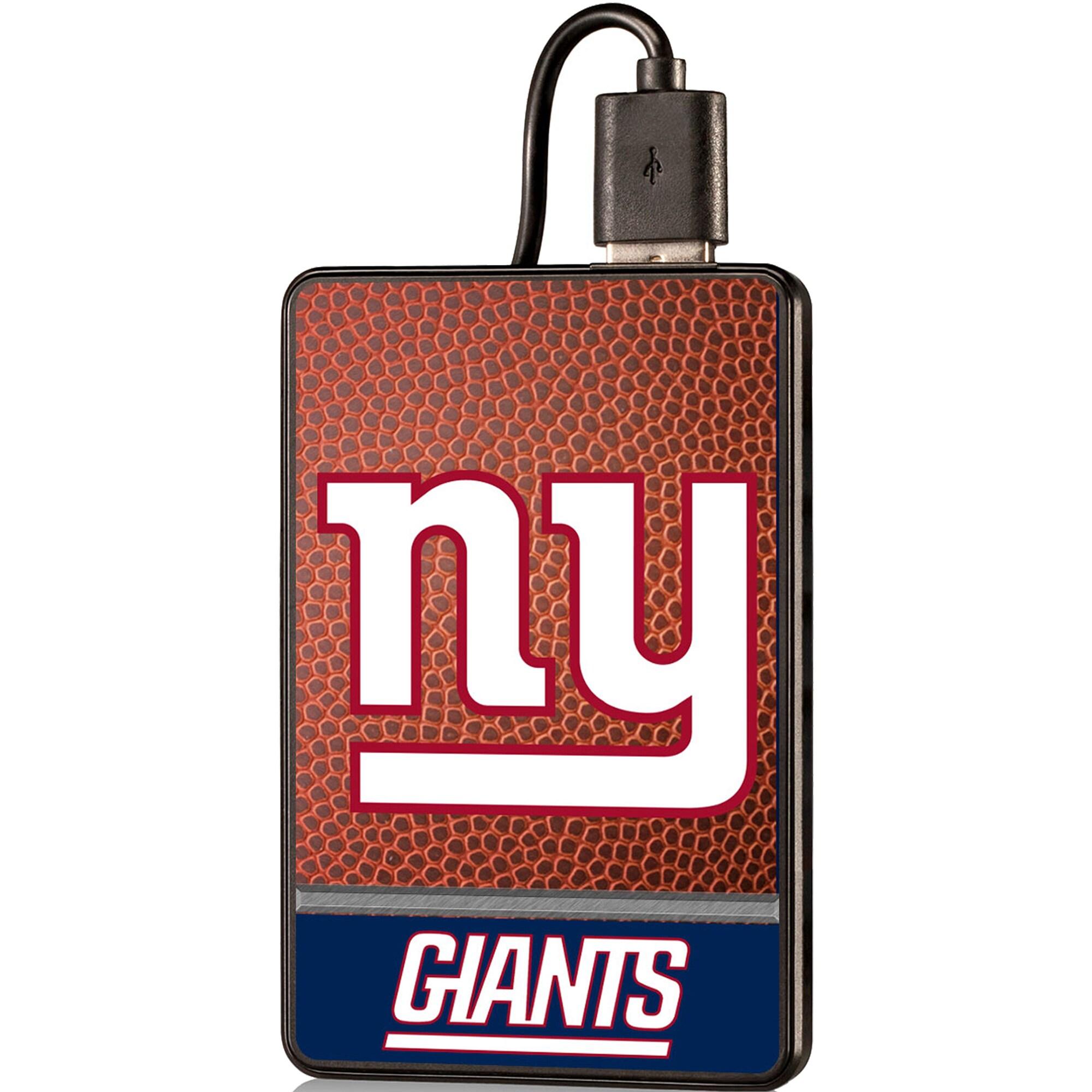 New York Giants 2000 mAh Credit Card Powerbank