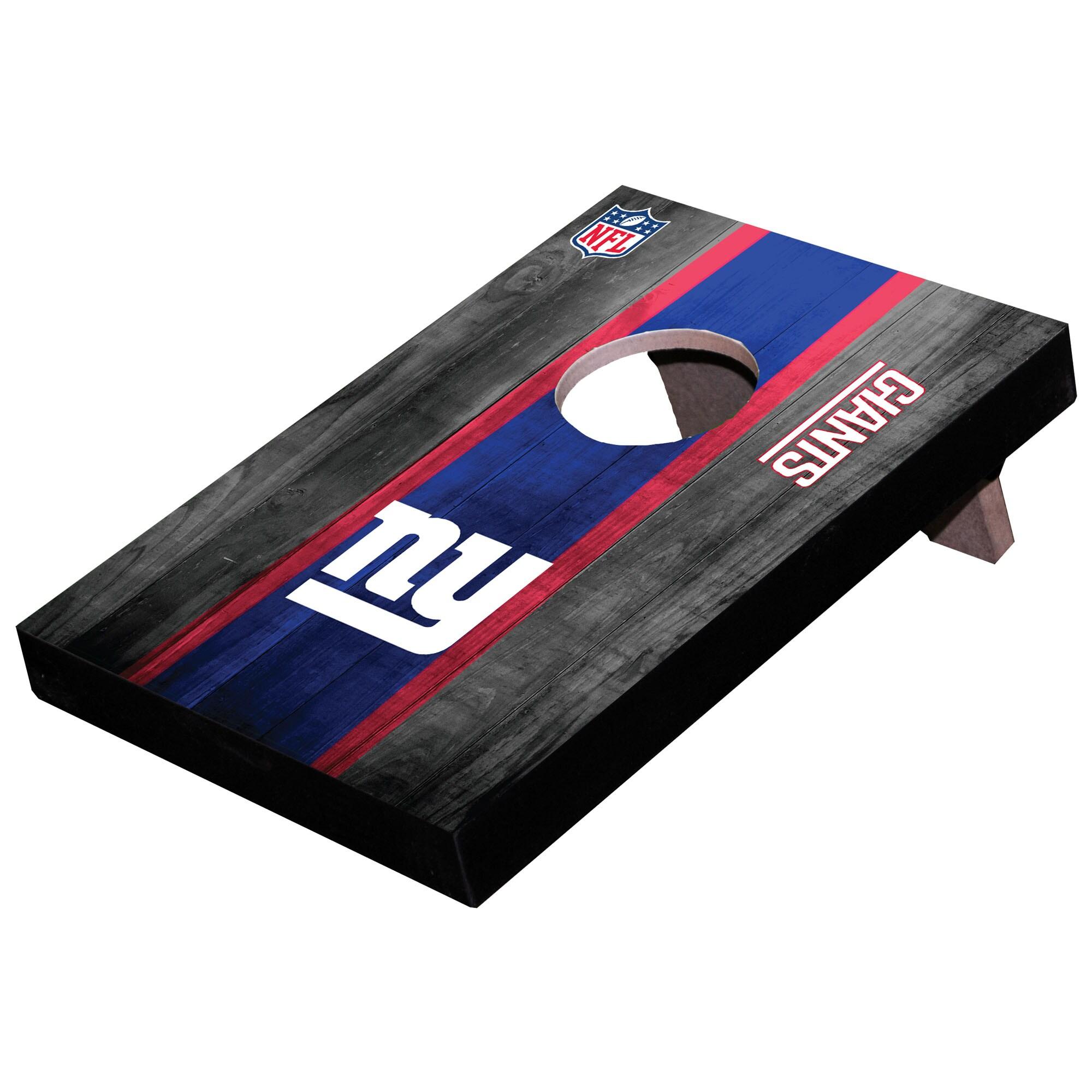 New York Giants Wooden Table Top Toss Set