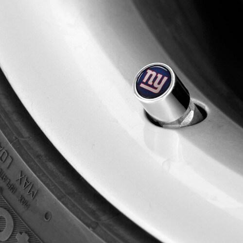 New York Giants Valve Stem Covers