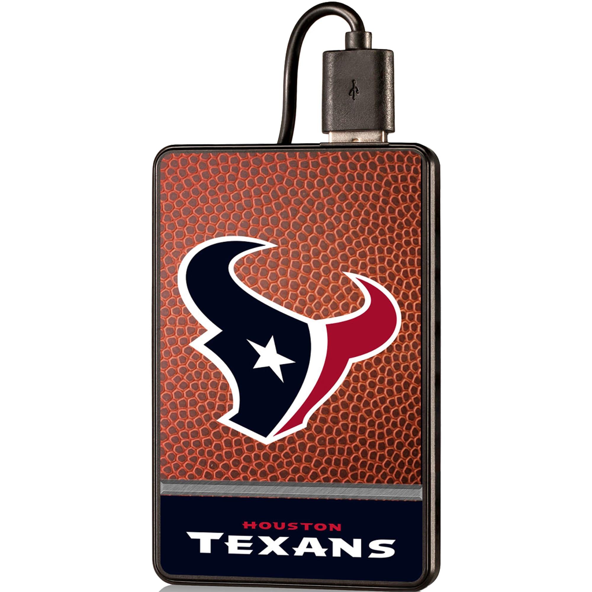 Houston Texans 2000 mAh Credit Card Powerbank