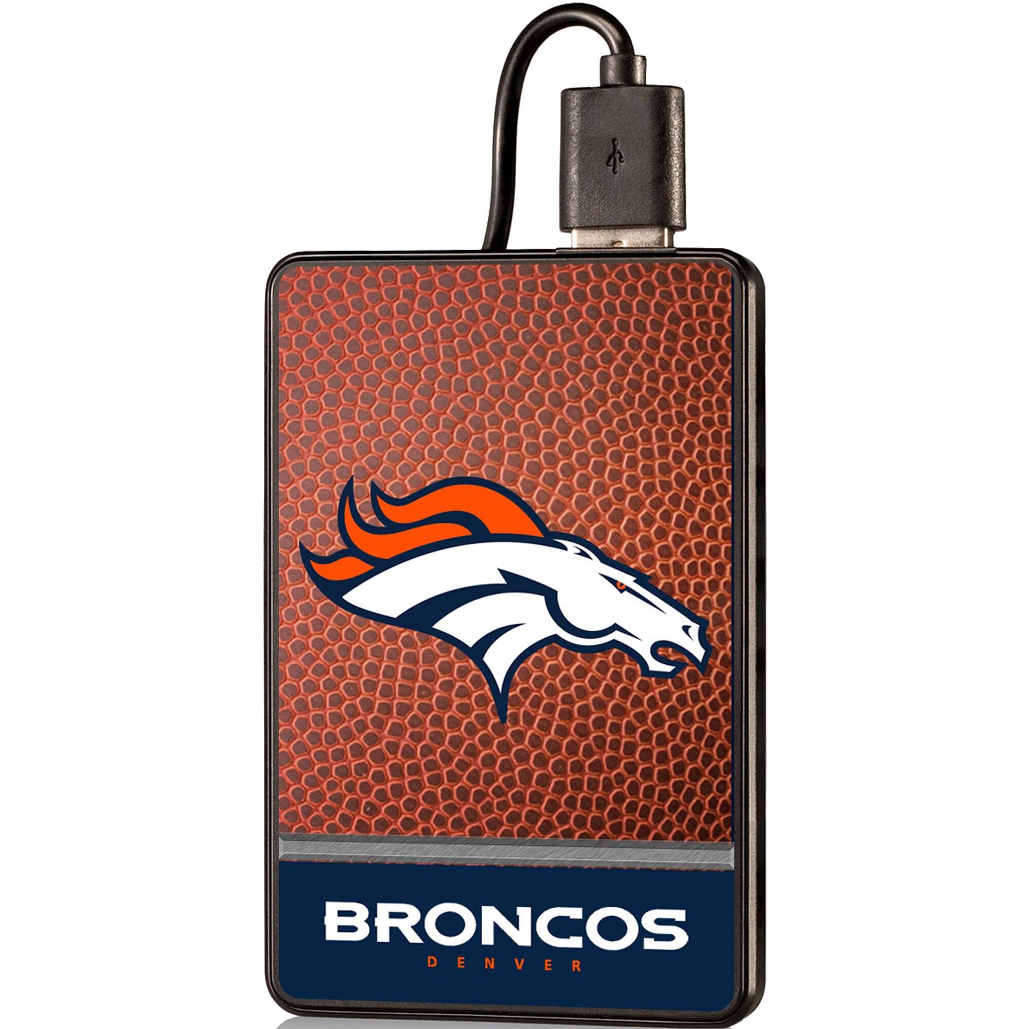 Denver Broncos 2000 mAh Credit Card Powerbank