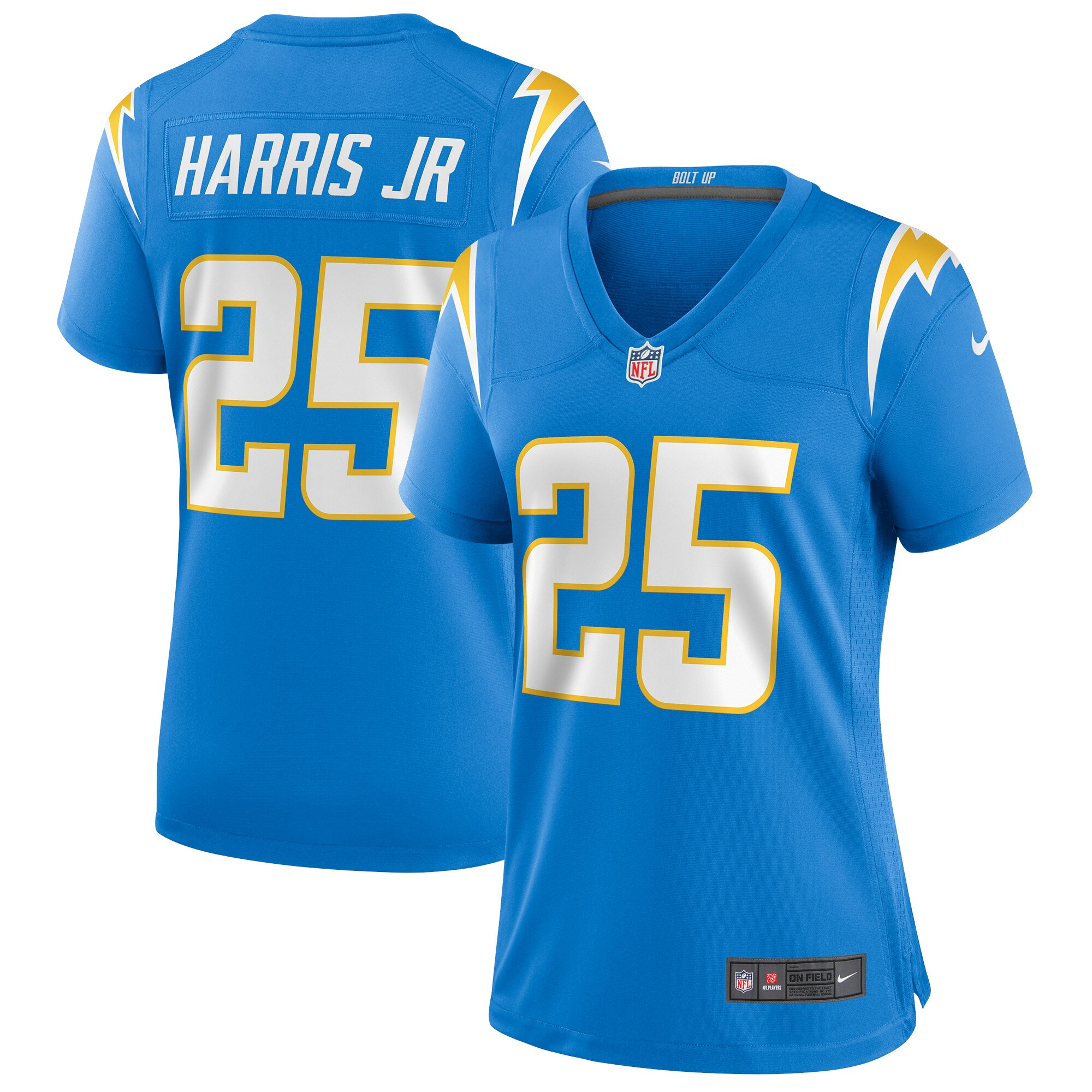 Chris Harris Jr. Los Angeles Chargers Nike Women's Game Jersey - Powder Blue