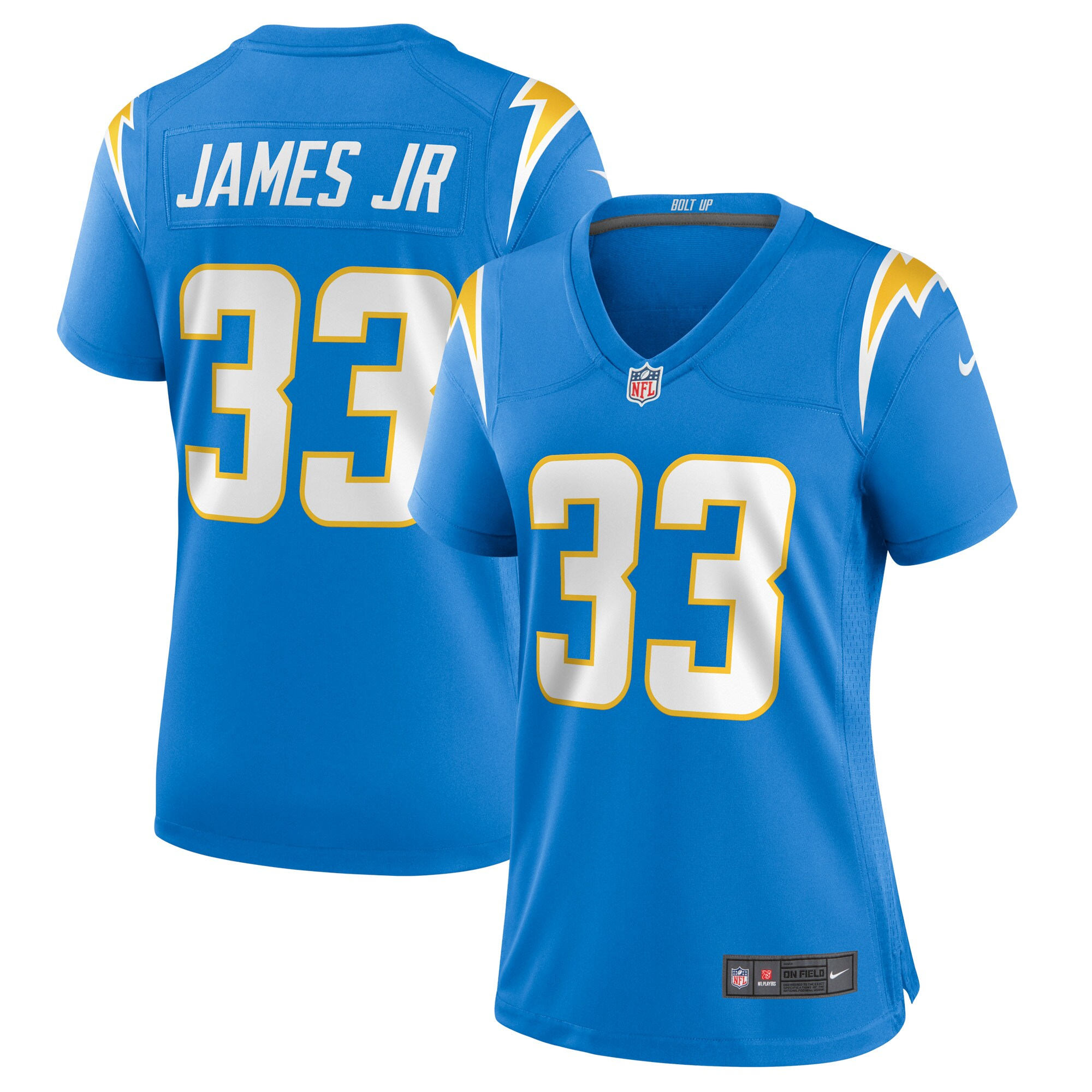Derwin James Los Angeles Chargers Nike Women's Game Jersey - Powder Blue