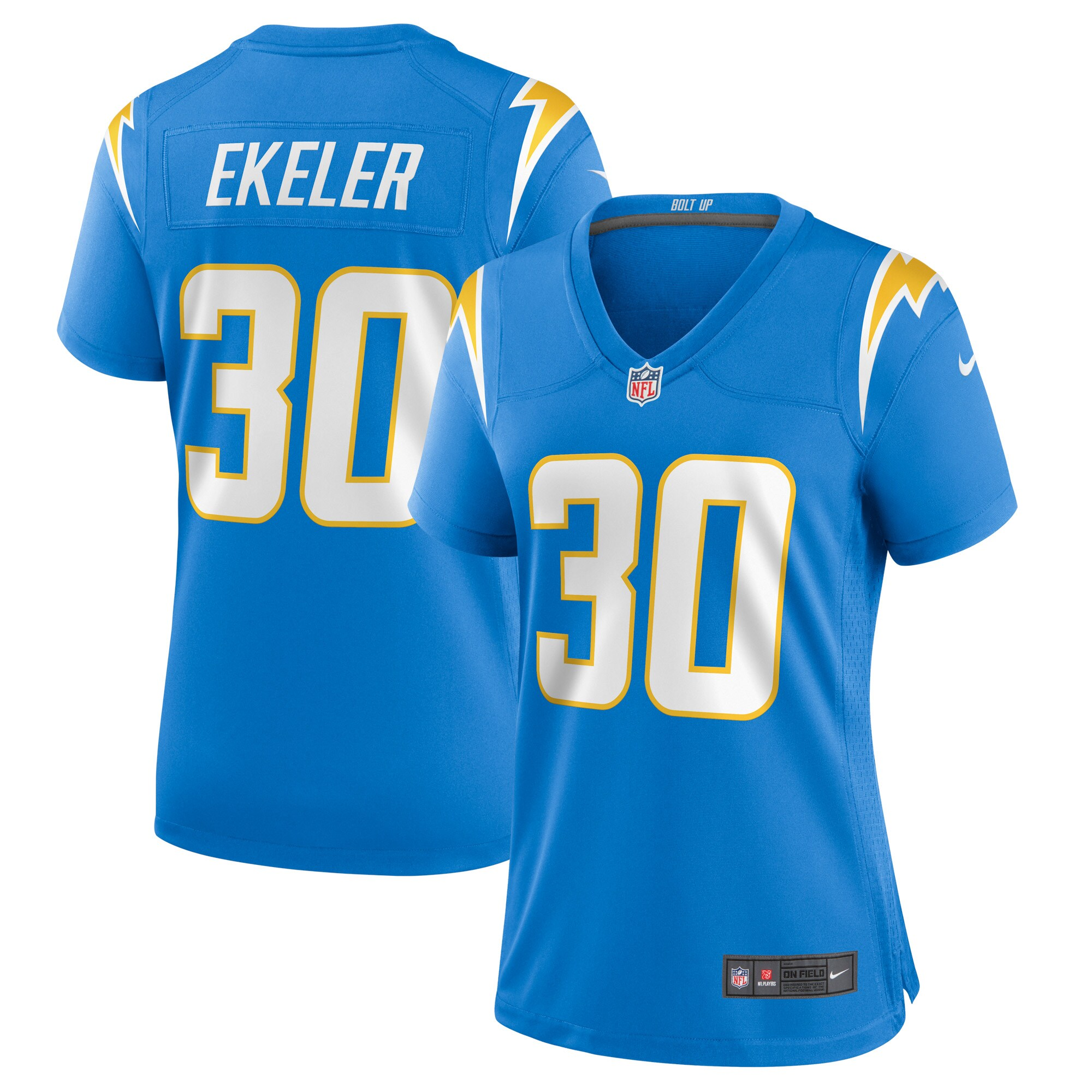 Austin Ekeler Los Angeles Chargers Nike Women's Game Jersey - Powder Blue