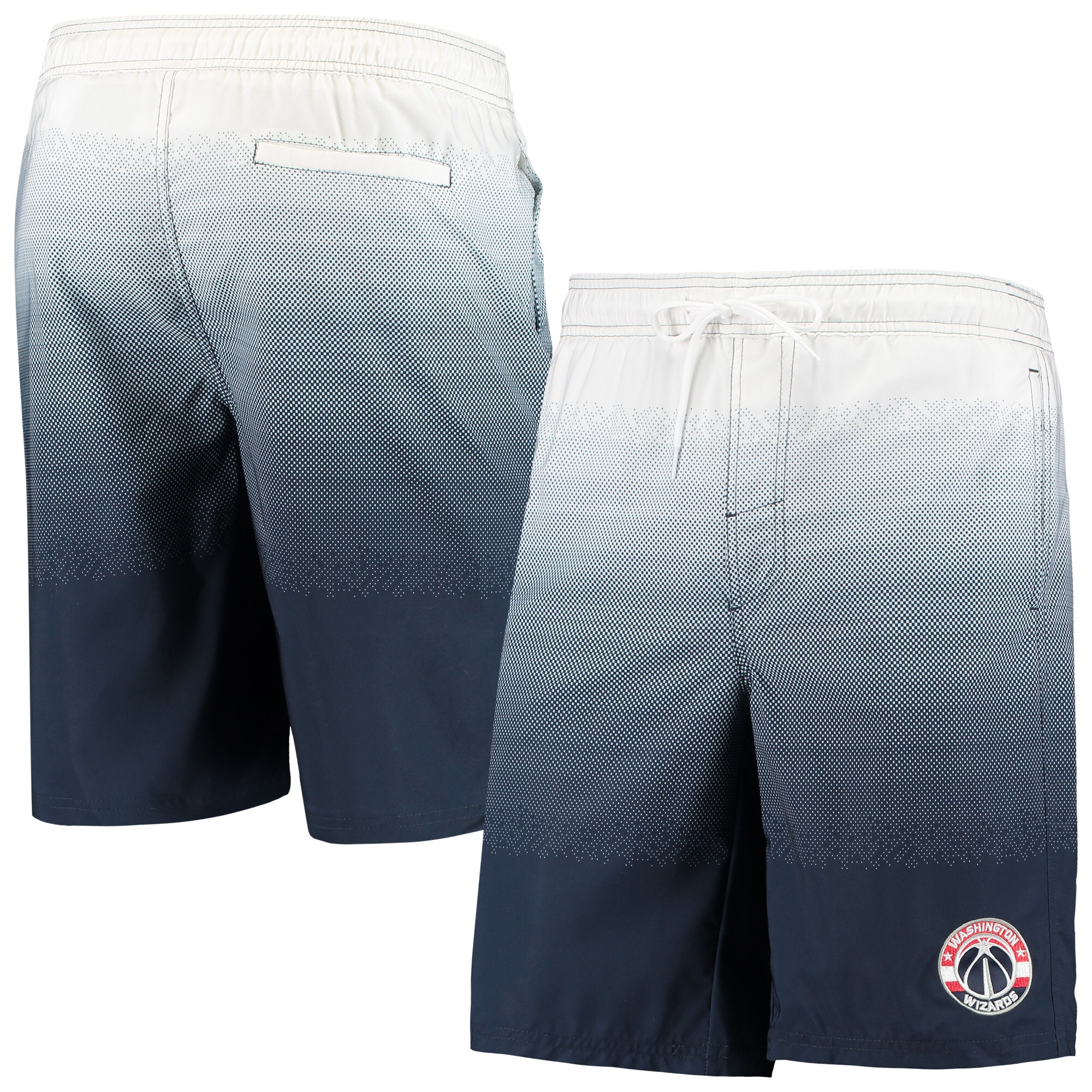 Washington Wizards G-III Sports by Carl Banks Horizon Swim Trunks - Navy