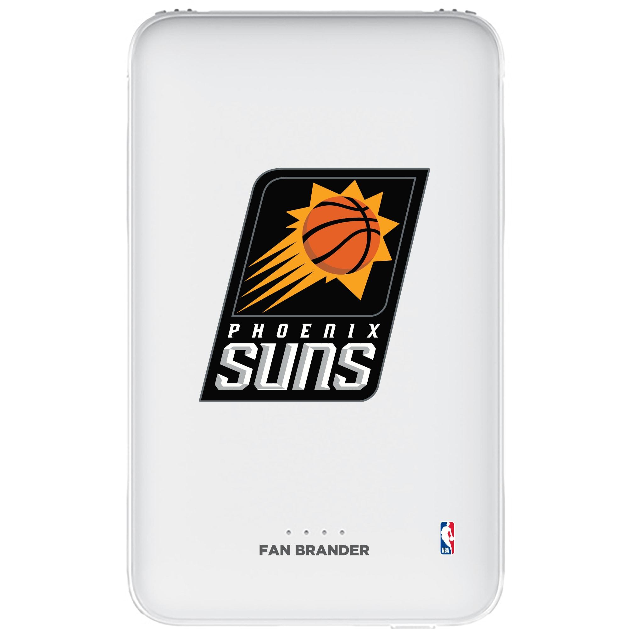 Phoenix Suns 5000mAh Portable Power Bank - White