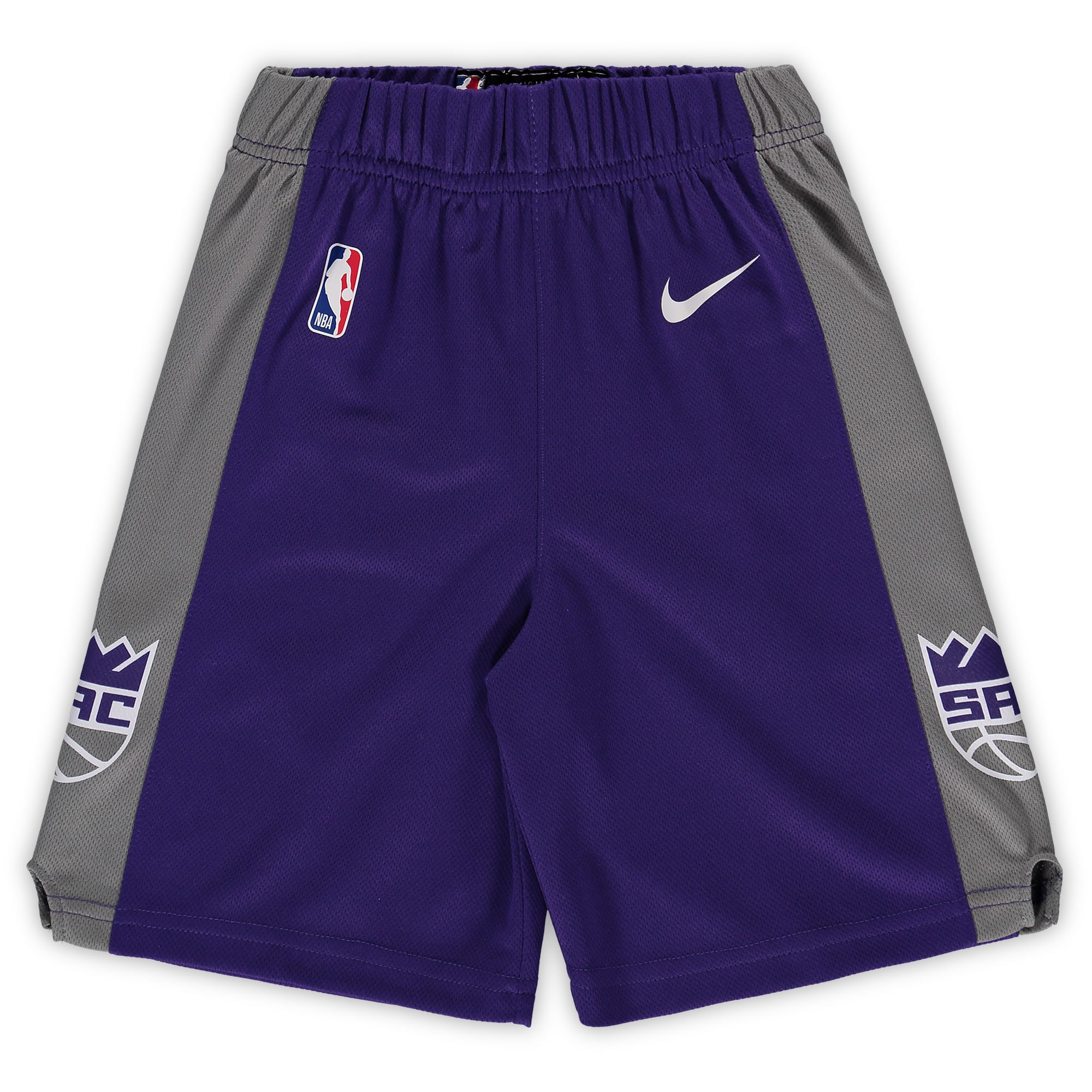 Sacramento Kings Nike Preschool Icon Replica Team Shorts - Purple