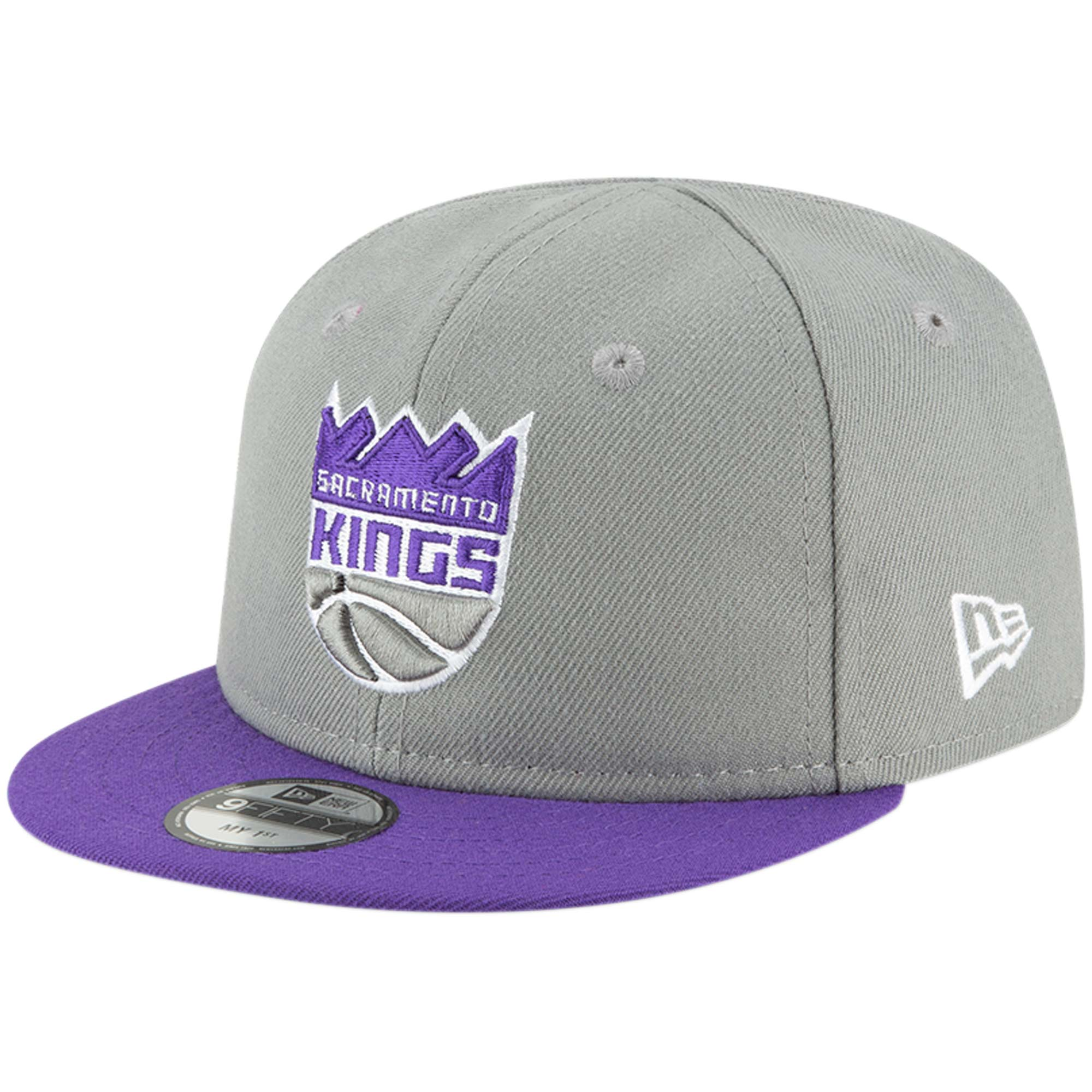 Sacramento Kings New Era Infant My First 9FIFTY Adjustable Hat - Gray