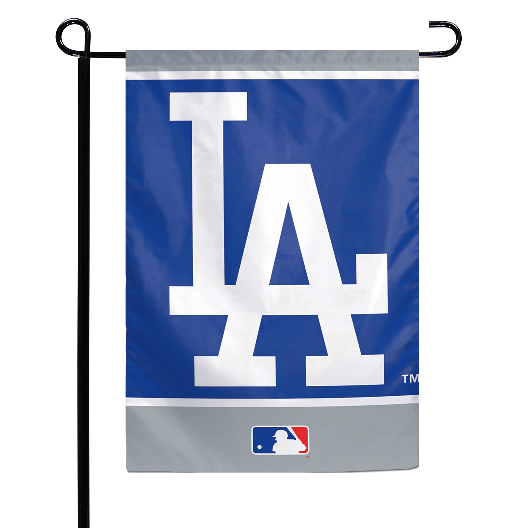 """Los Angeles Dodgers WinCraft 12"""" x 18"""" Double-Sided Garden Flag"""