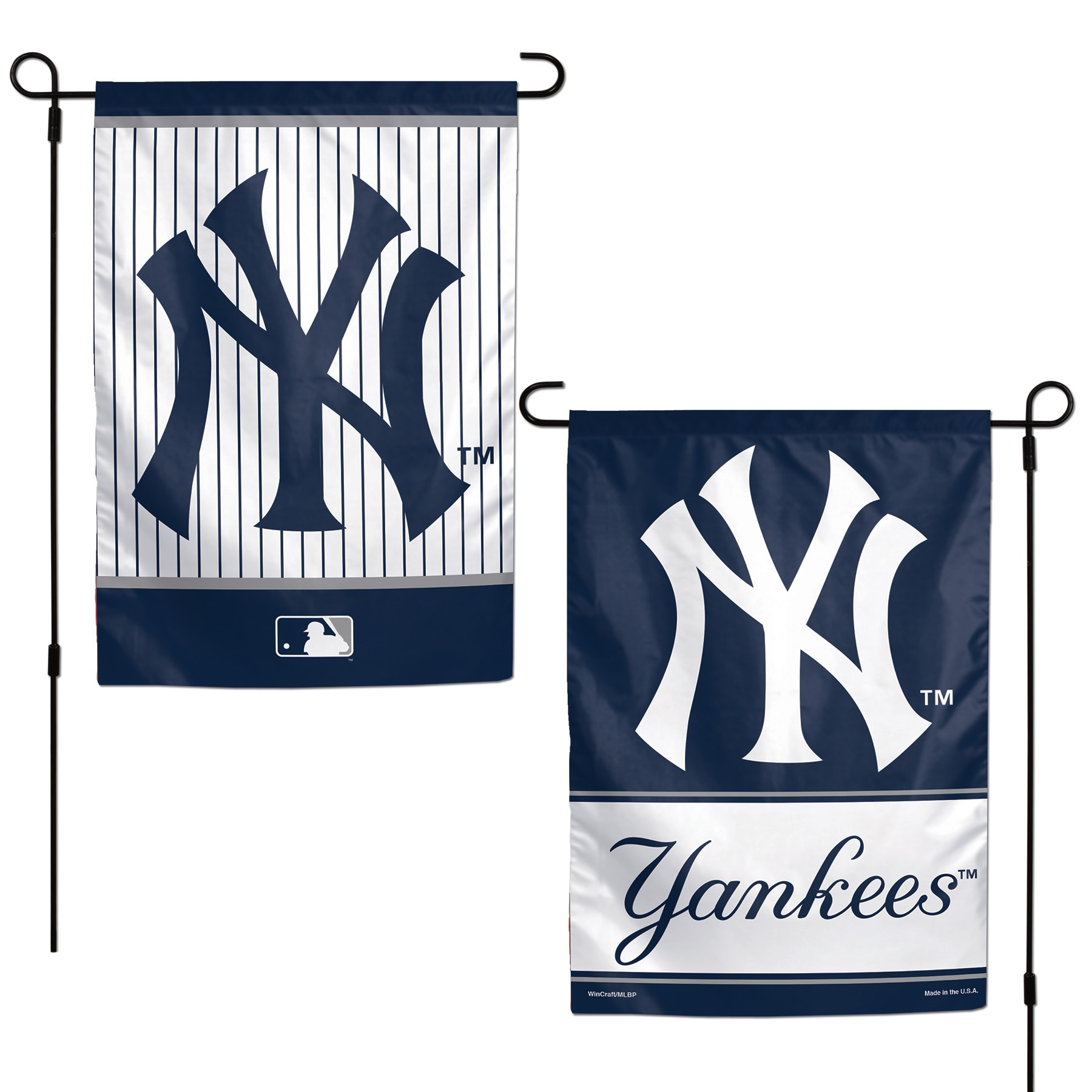 """New York Yankees WinCraft 12"""" x 18"""" Double-Sided Garden Flag"""