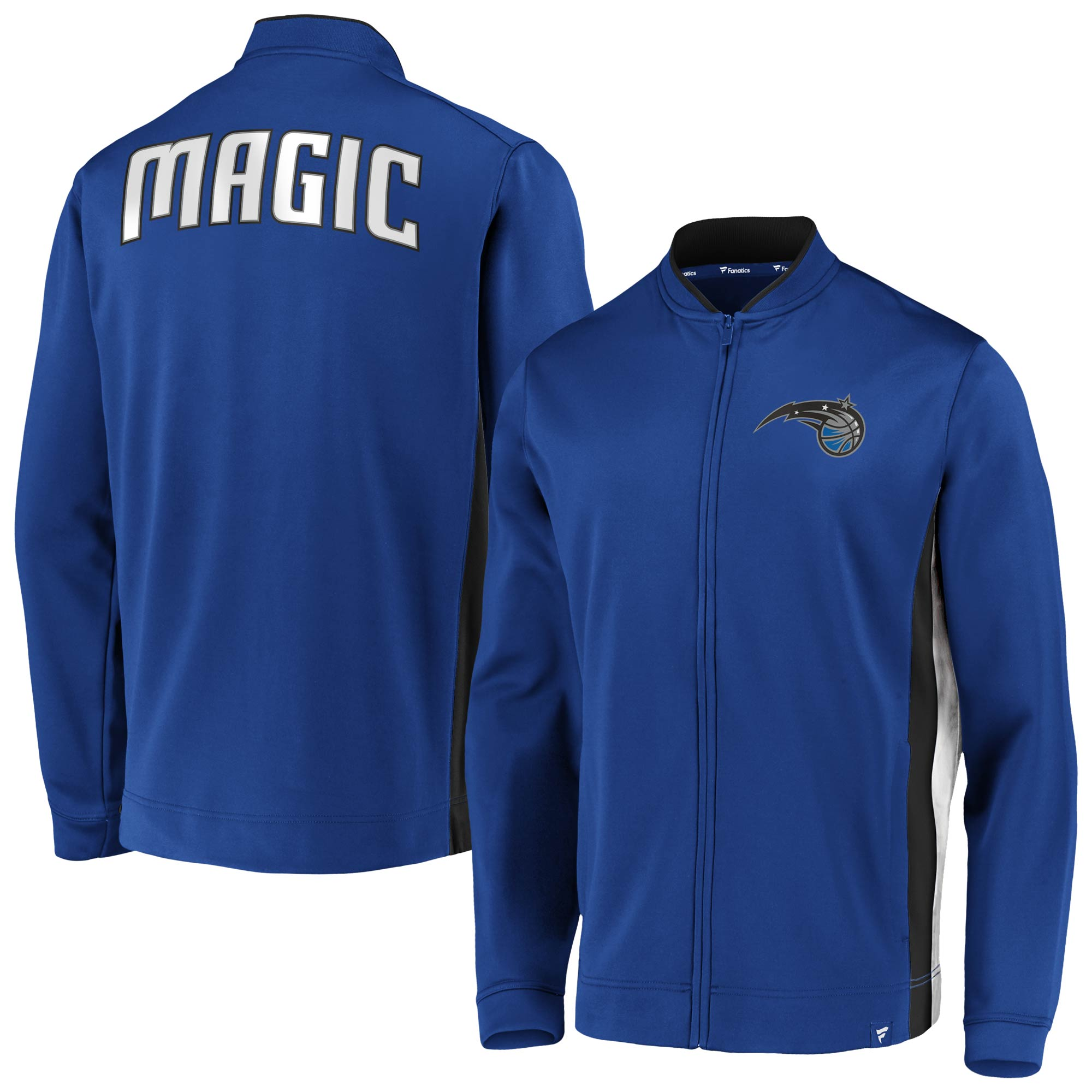 Orlando Magic Fanatics Branded Exclusive Mock Neck Full-Zip Jacket - Blue