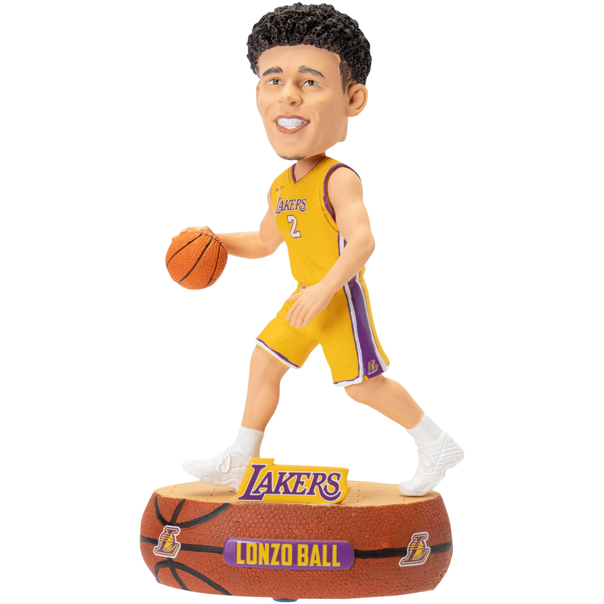 Lonzo Ball Los Angeles Lakers Baller Player Bobblehead