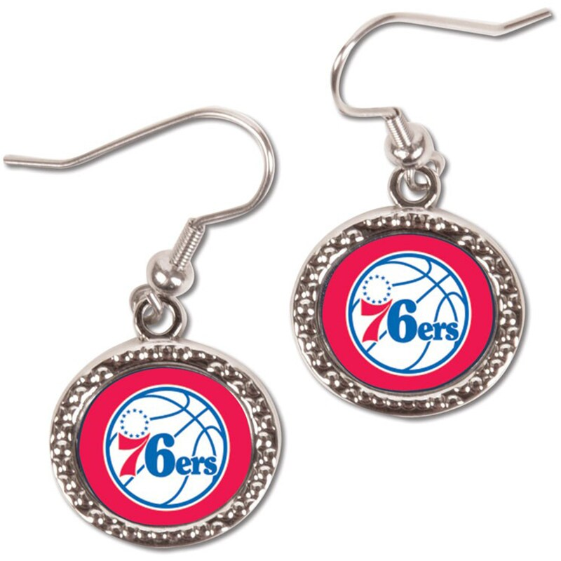 Philadelphia 76ers WinCraft Women's Round Dangle Earrings