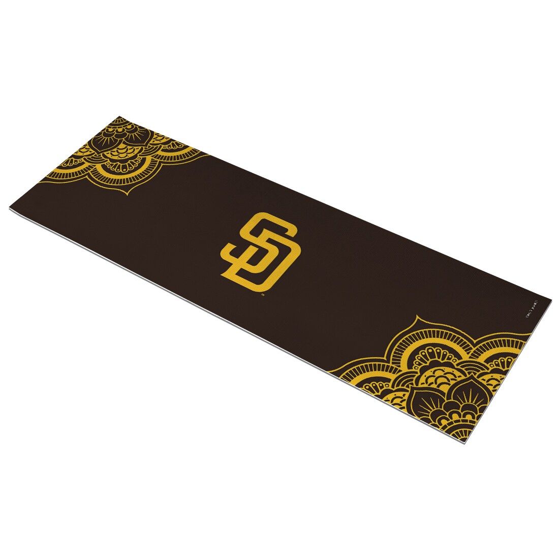 San Diego Padres Color Design Yoga Mat