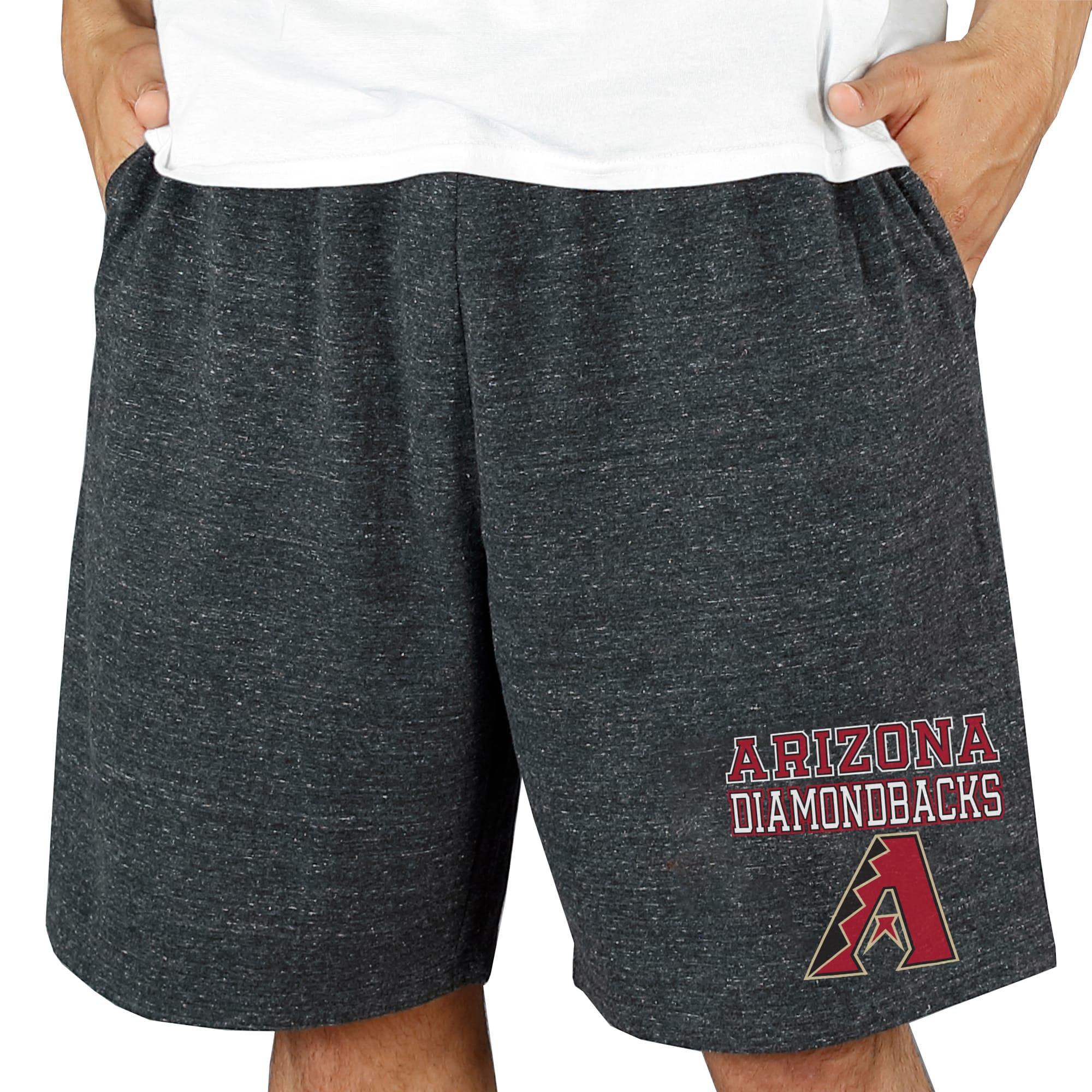 Arizona Diamondbacks Concepts Sport Pitch Knit Jam Shorts - Charcoal