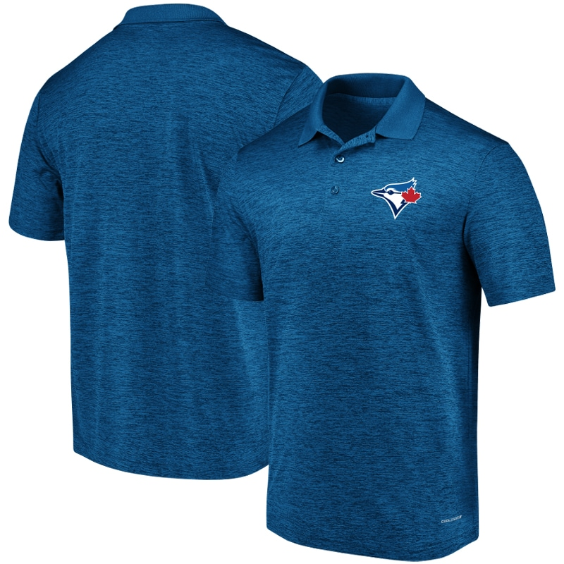 Toronto Blue Jays Majestic Targeting Success Domestic Cool Base Polo - Royal