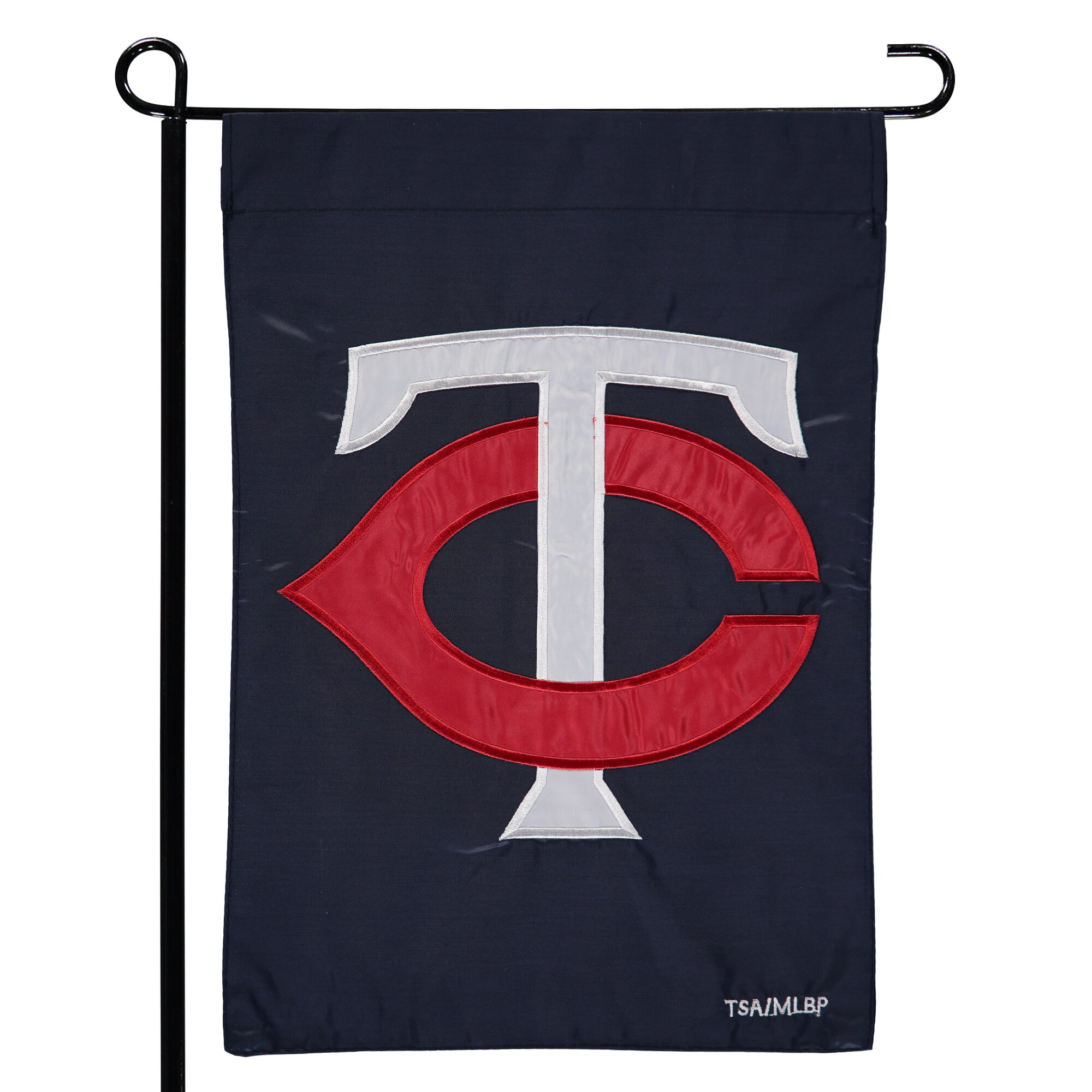 "Minnesota Twins 12.5"" x 19"" Applique Double-Sided Garden Flag"