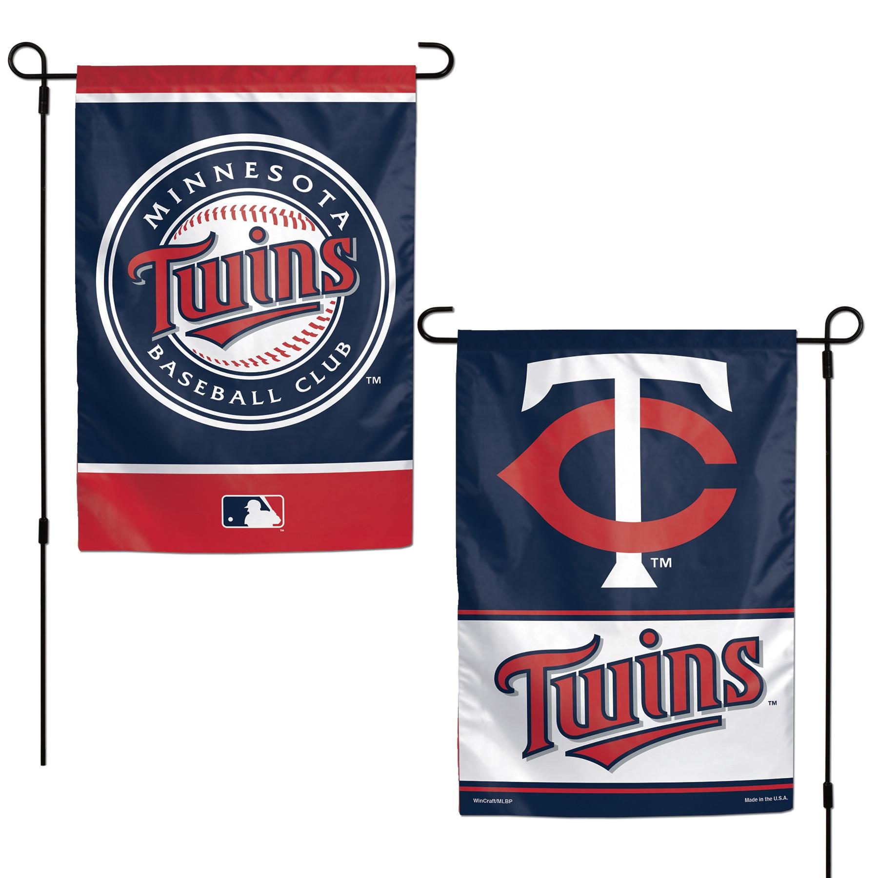 "Minnesota Twins WinCraft 12"" x 18"" Double-Sided Garden Flag"