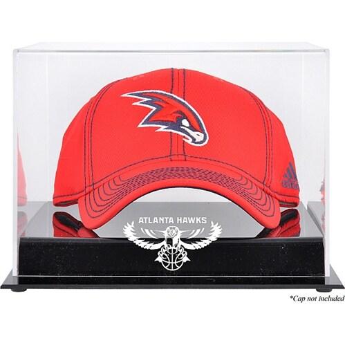 Atlanta Hawks Fanatics Authentic Acrylic Hardwood Classics 2007 - 2015 Logo Cap Display Case