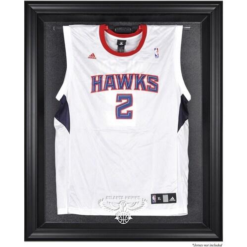 Atlanta Hawks Fanatics Authentic Black Framed Hardwood Classics 2007 - 2015 Logo Jersey Display Case