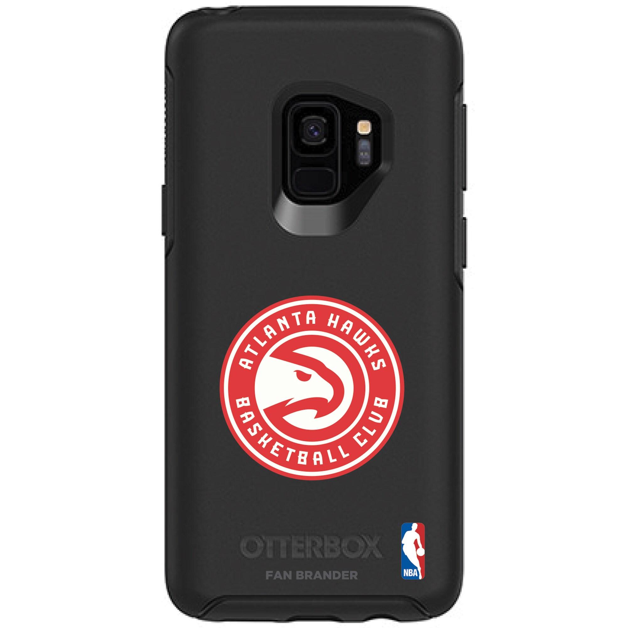 Atlanta Hawks OtterBox Black Galaxy S9/S9 Plus Symmetry Case