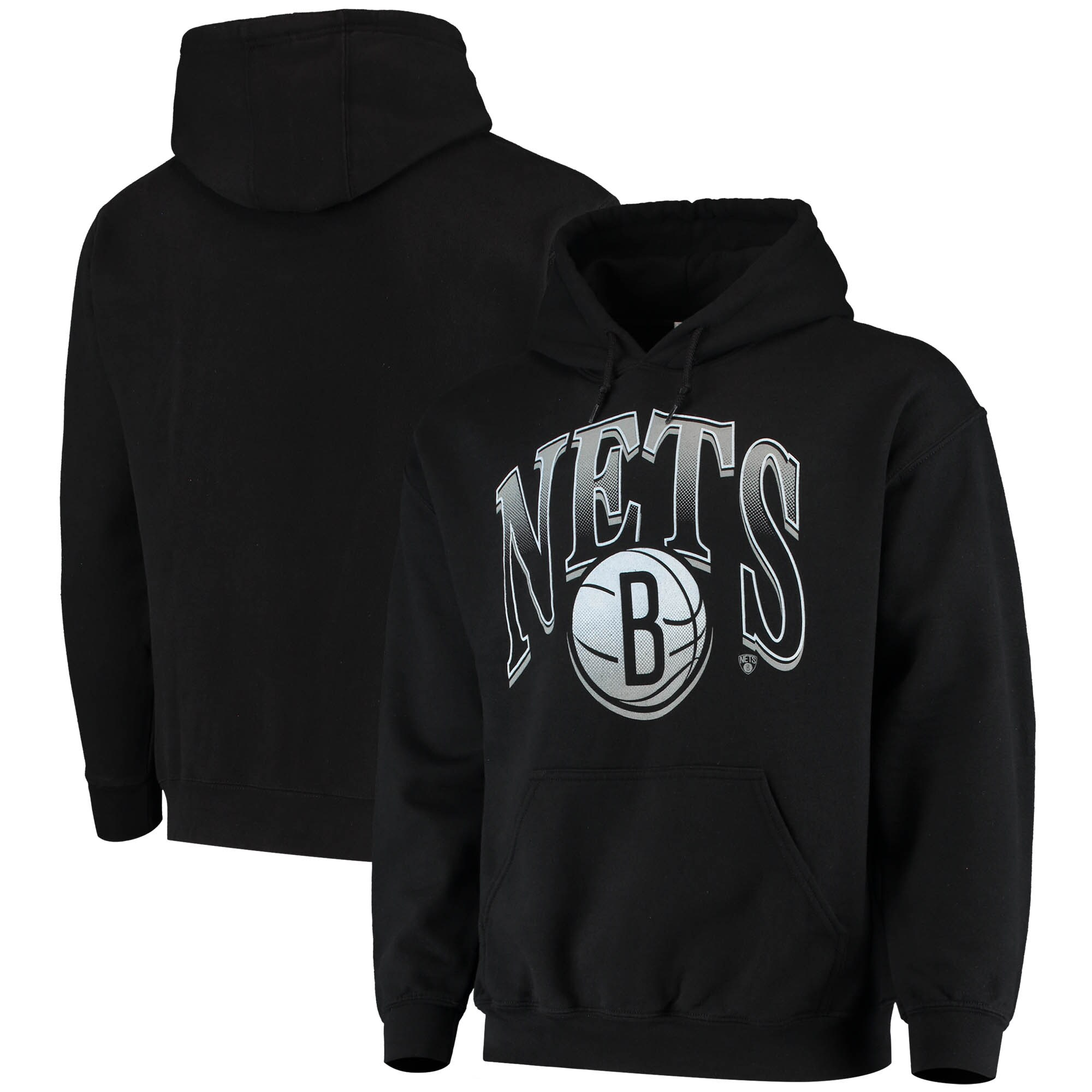 Brooklyn Nets Junk Food Hometown Pullover Hoodie - Black