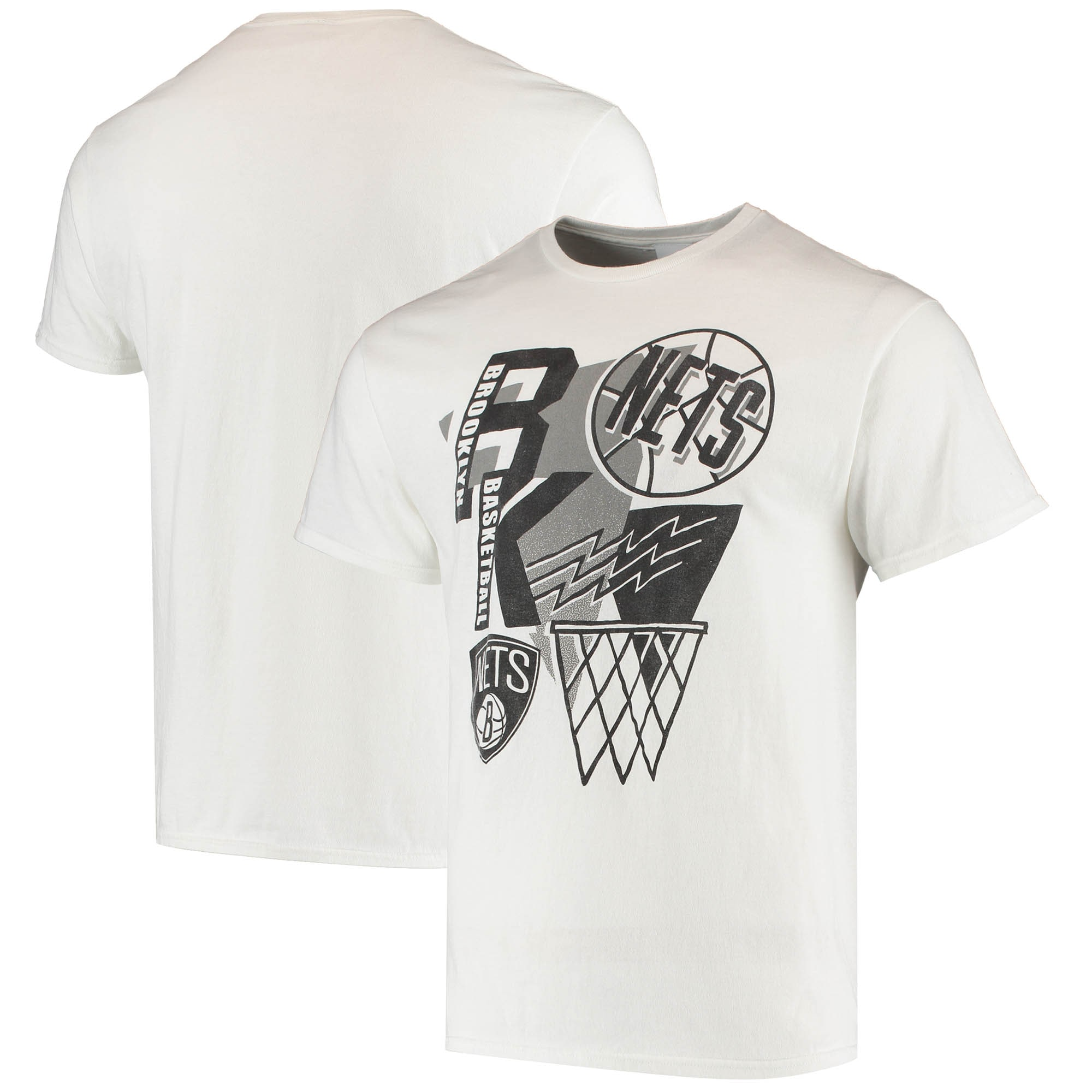 Brooklyn Nets Junk Food Hometown T-Shirt - White
