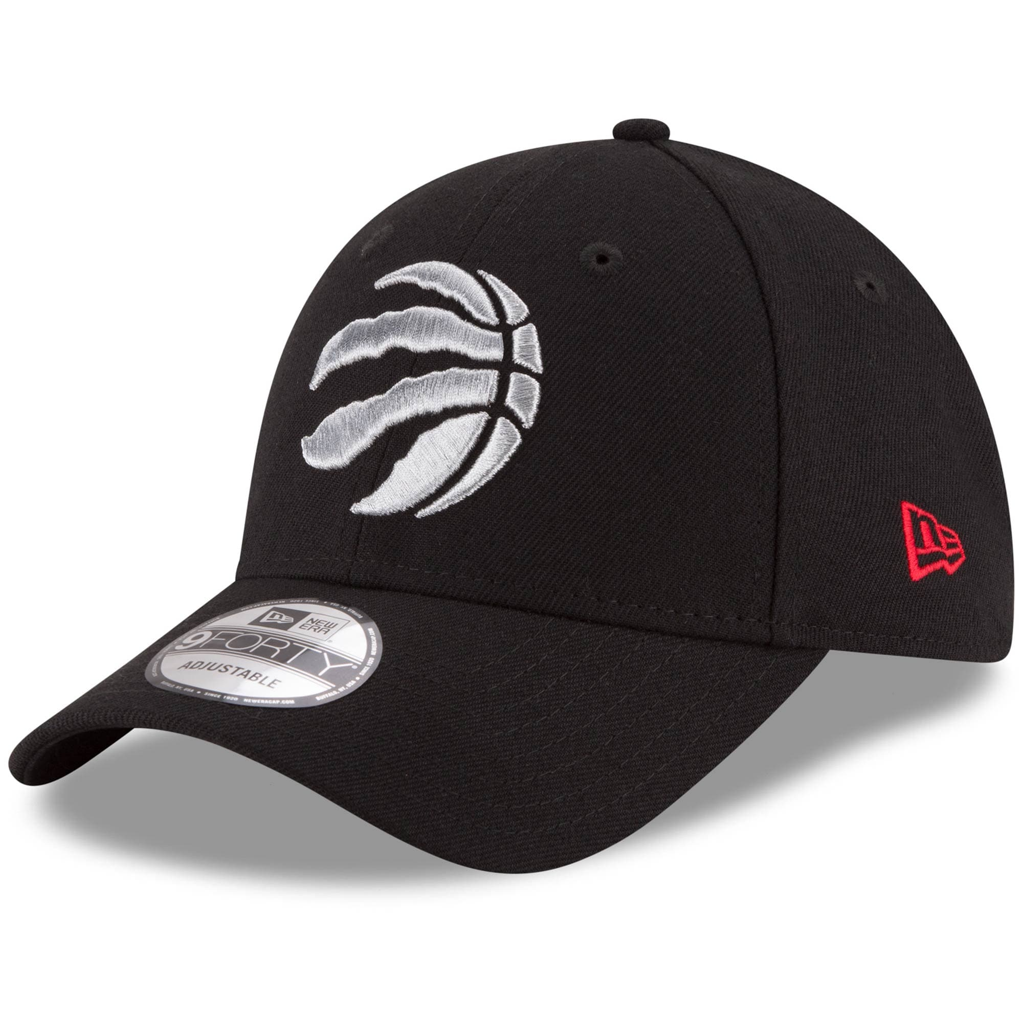 Toronto Raptors New Era Youth Junior The League 9FORTY Adjustable Hat - Black
