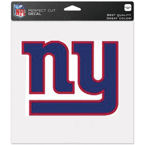 New York Giants WinCraft 8'' x 8'' Color Car Decal