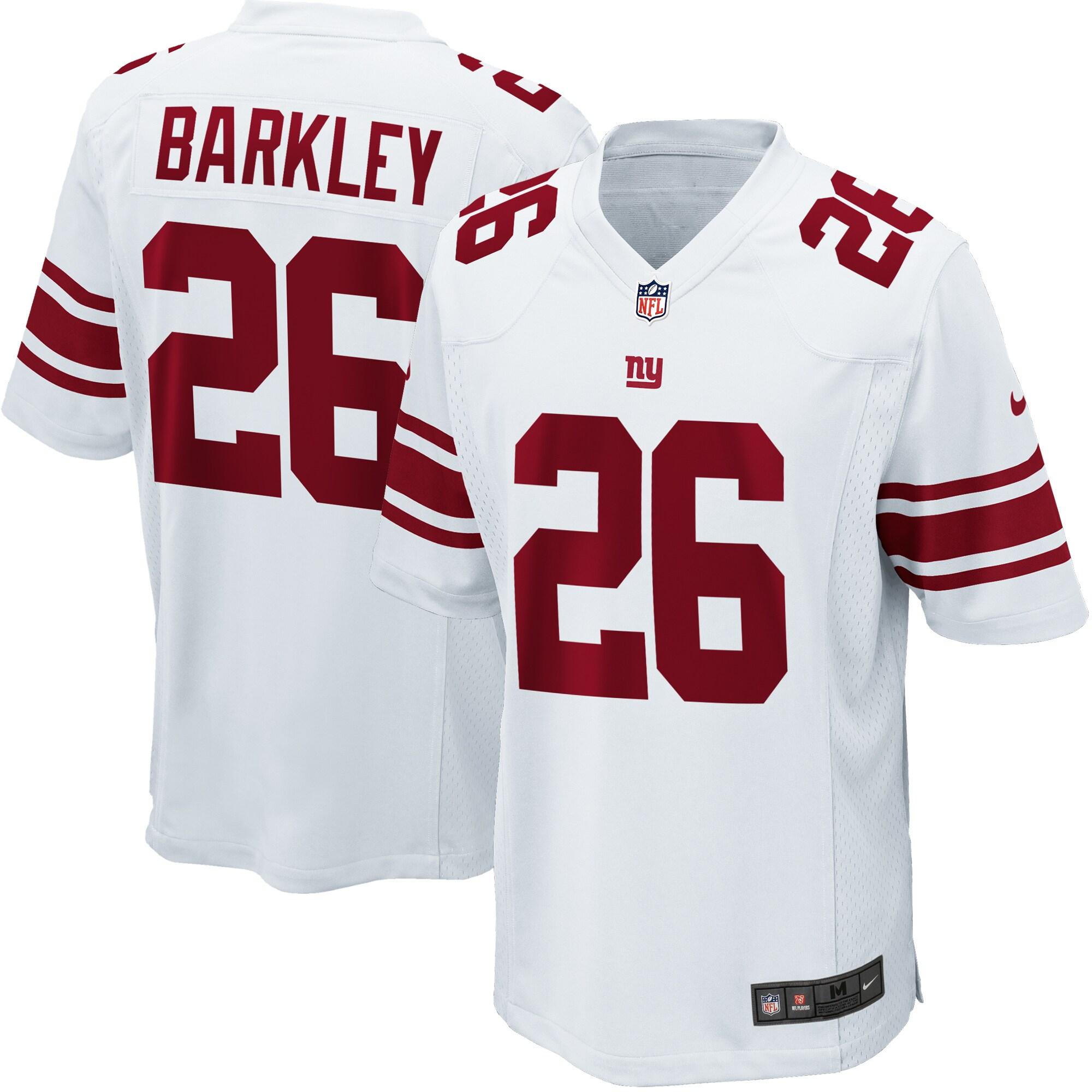Saquon Barkley New York Giants Nike Youth Game Jersey - White