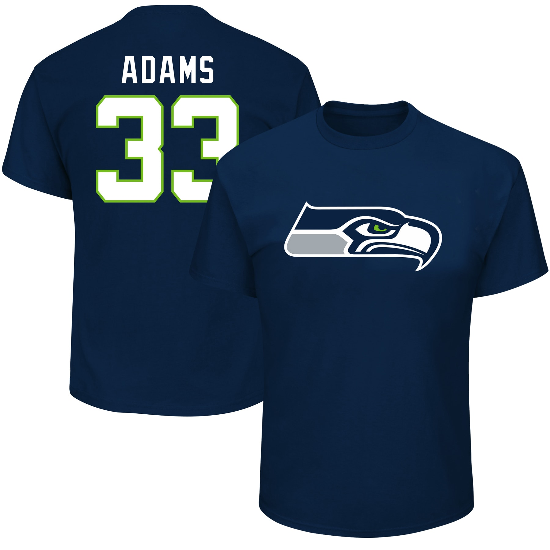 Jamal Adams Seattle Seahawks Fanatics Branded Big & Tall Player Name & Number T-Shirt - College Navy