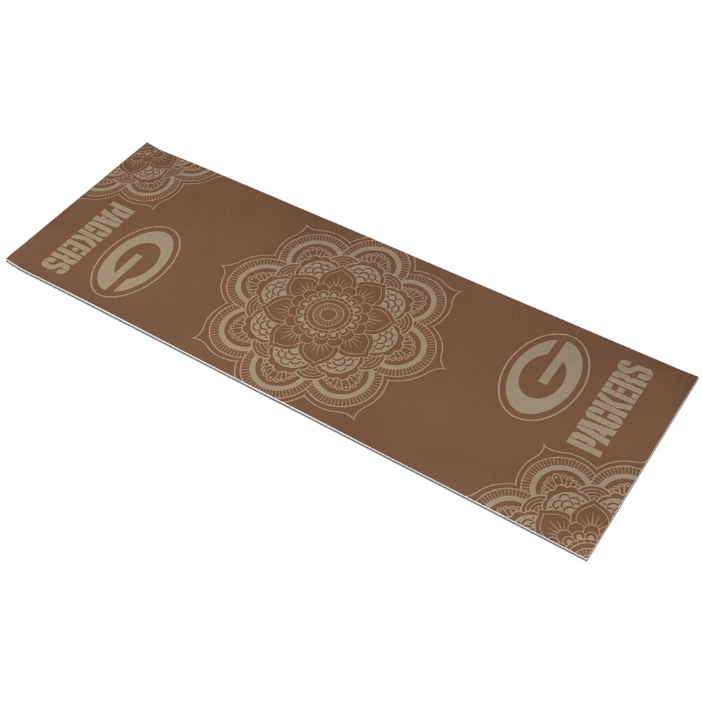 Green Bay Packers Earth Design Yoga Mat